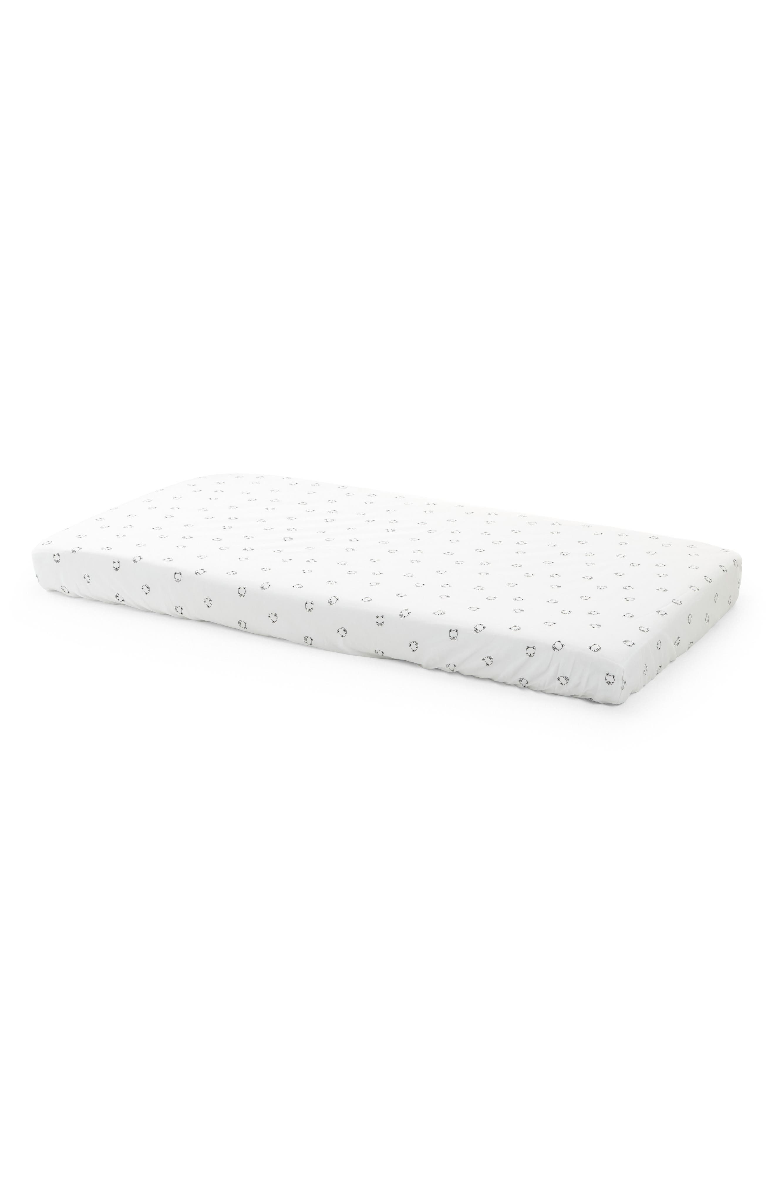 Stokke 2-Pack Fitted Sheets for Home Bed Mattress