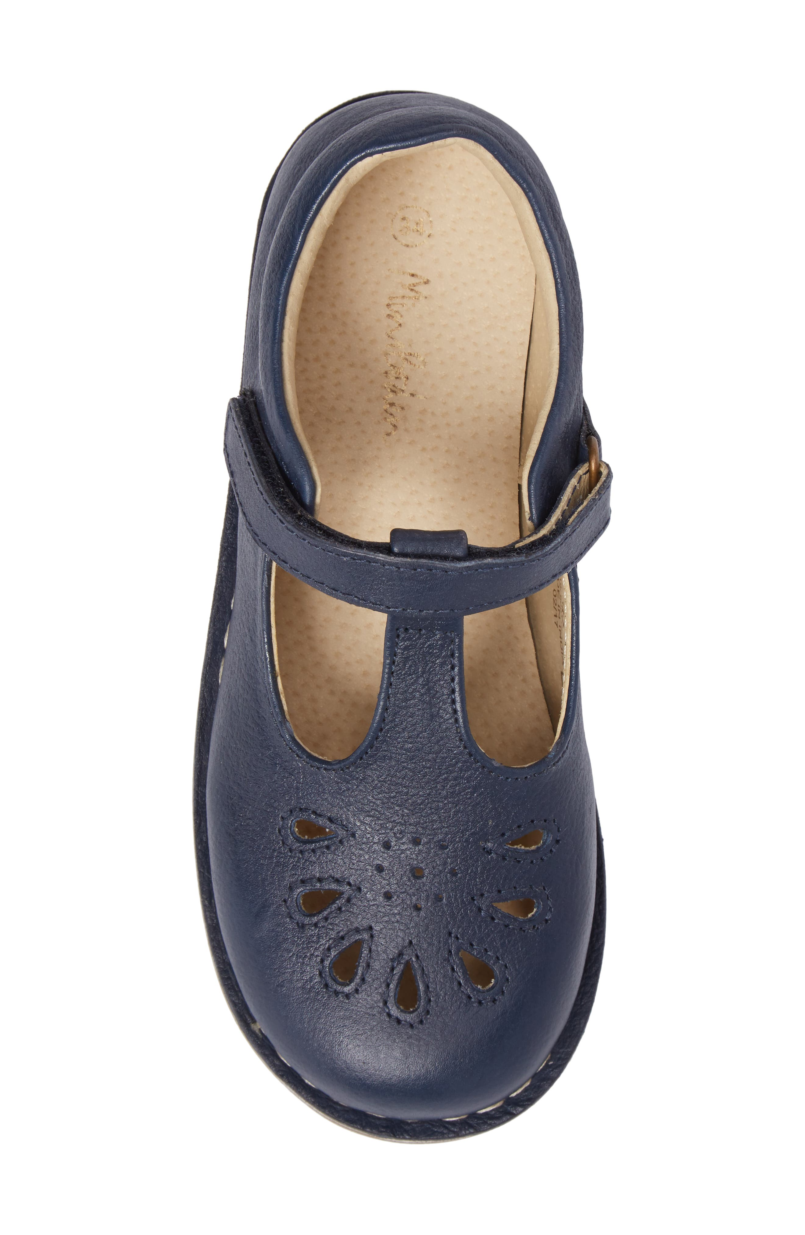 Alternate Image 5  - Mini Boden Perforated T-Strap Mary Jane (Toddler, Little Kid & Big Kid)