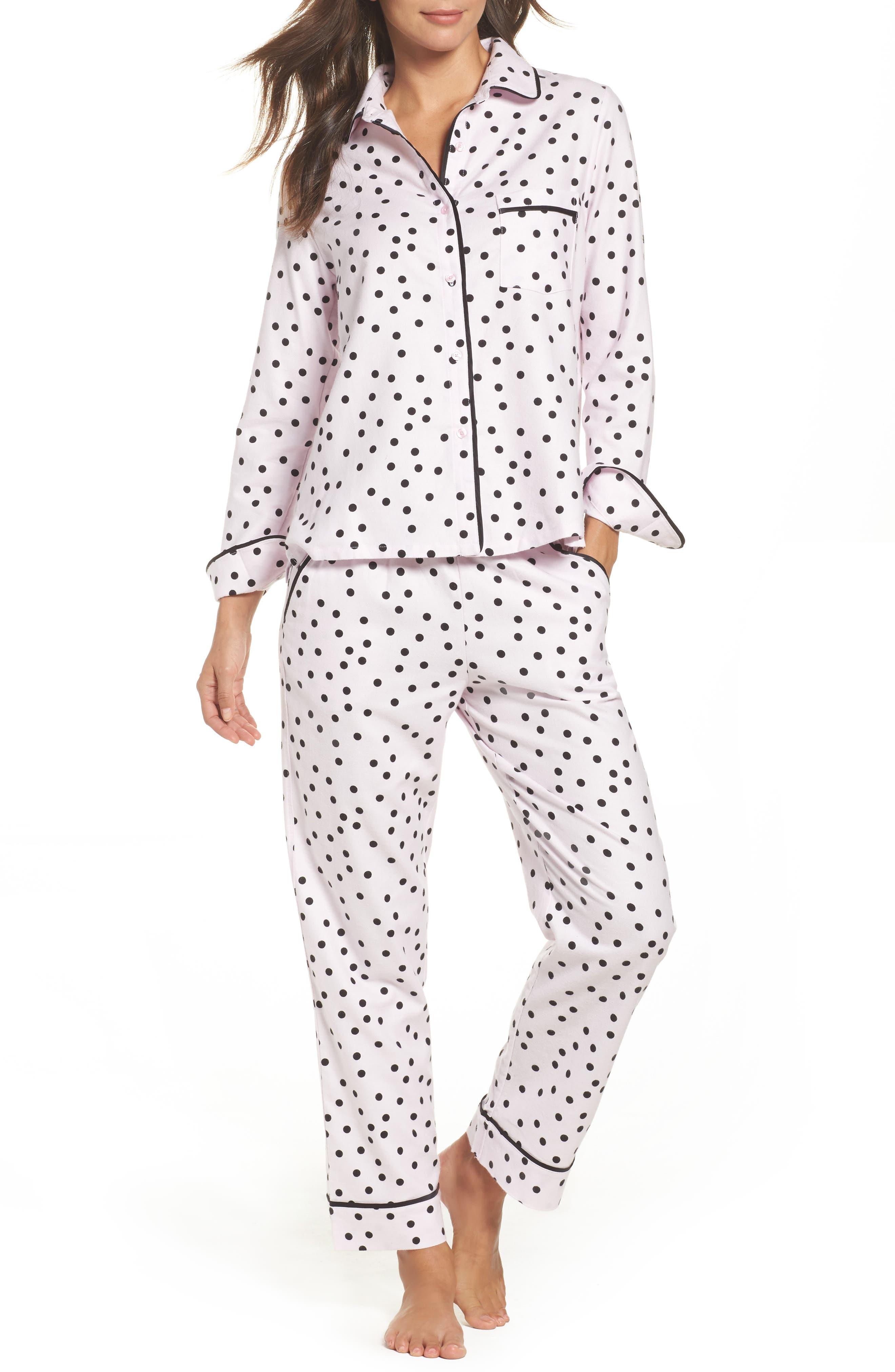 kate spade new york flannel pajamas
