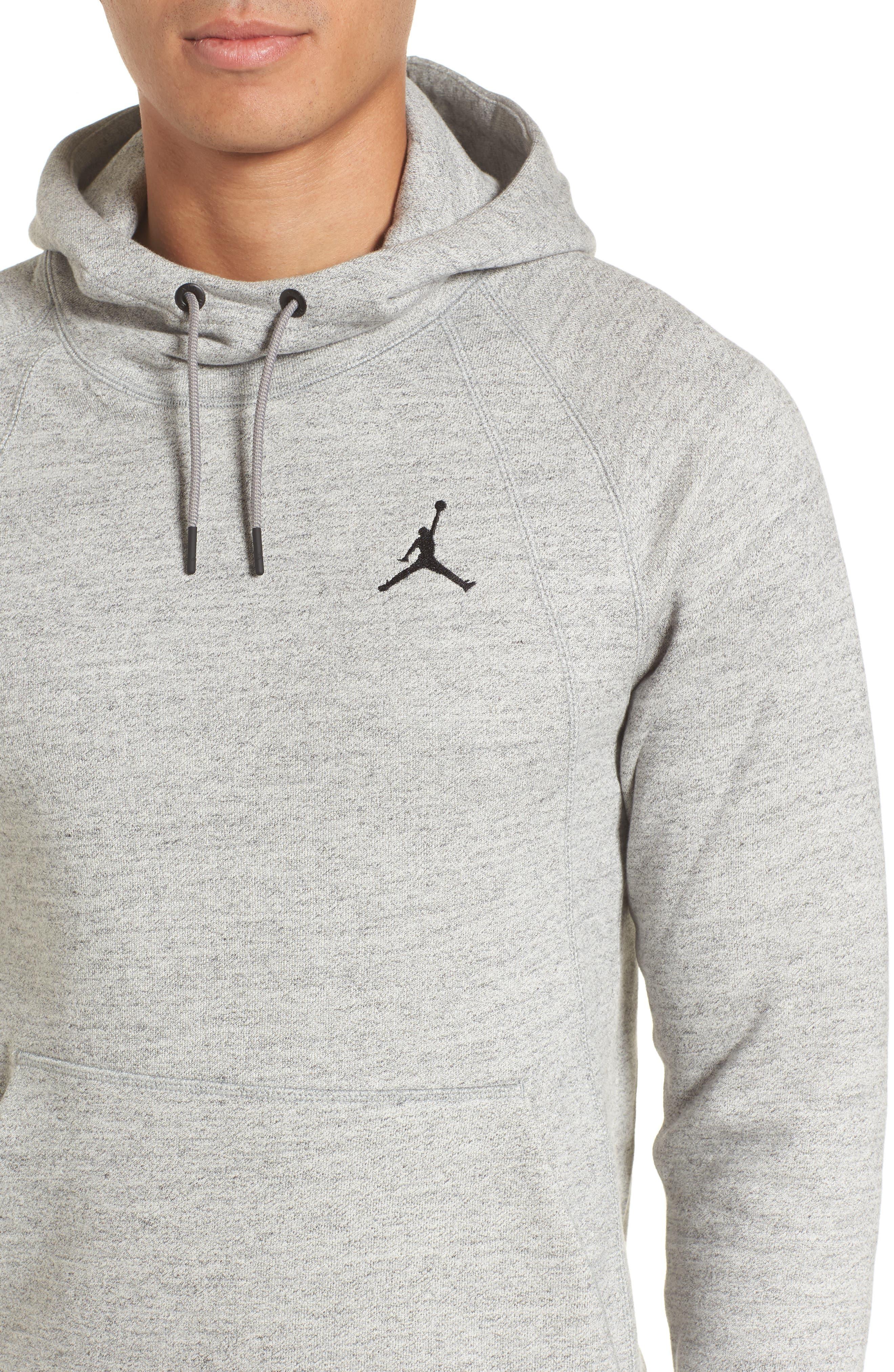 Alternate Image 4  - Nike Jordan Sportswear Fleece Hoodie