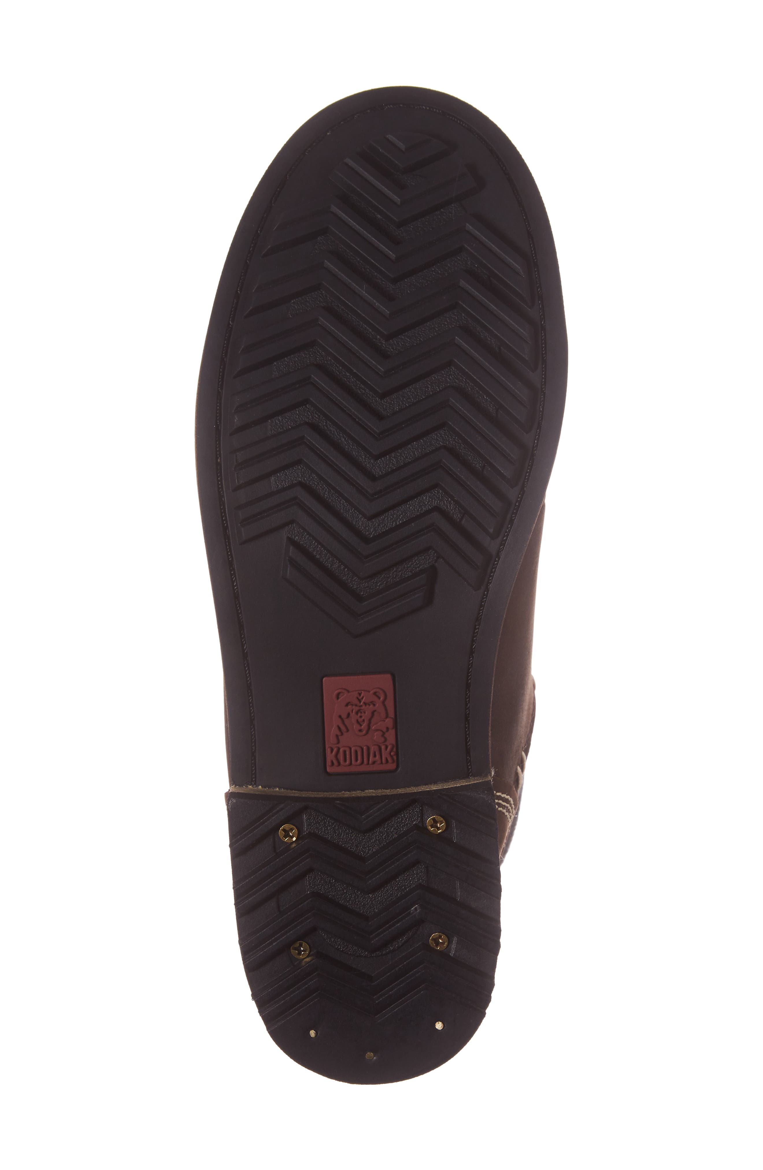 Surrey II Waterproof Boot,                             Alternate thumbnail 6, color,                             Brown Leather
