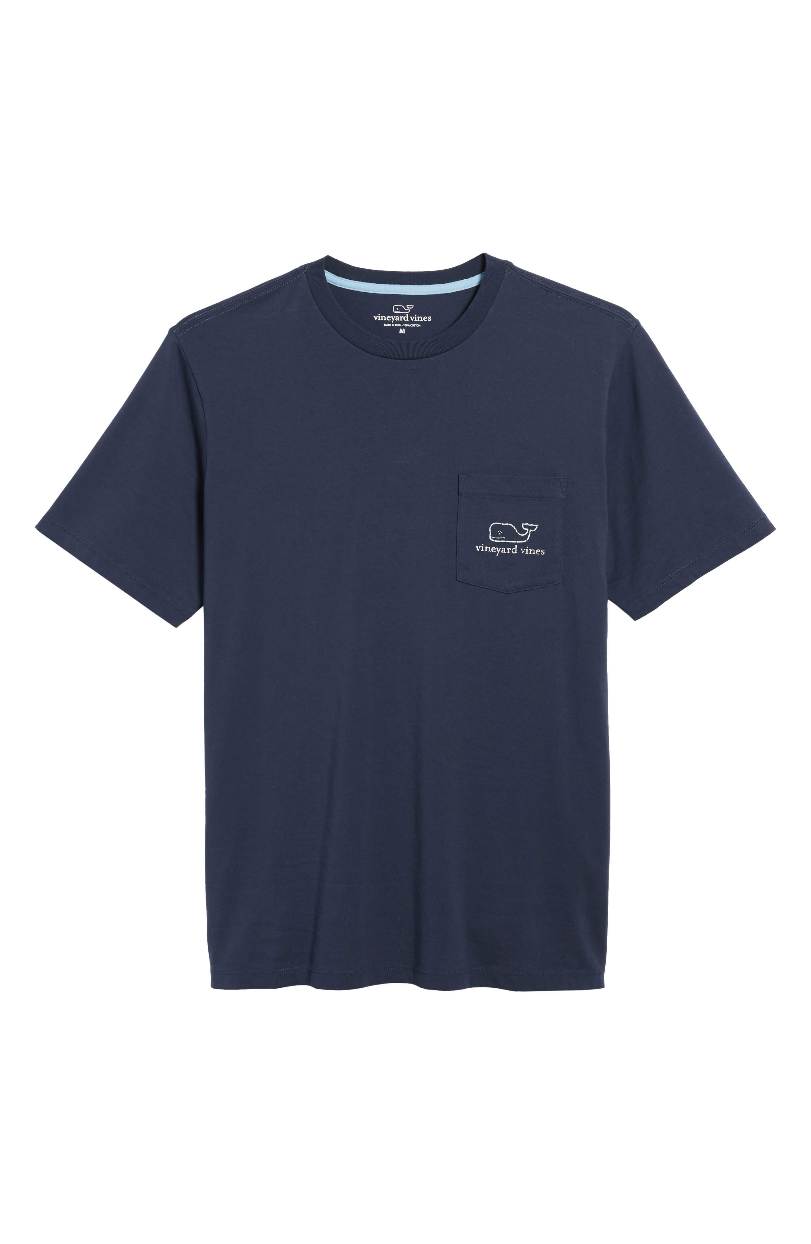 Alternate Image 4  - vineyard vines Vintage Whale Pocket T-Shirt
