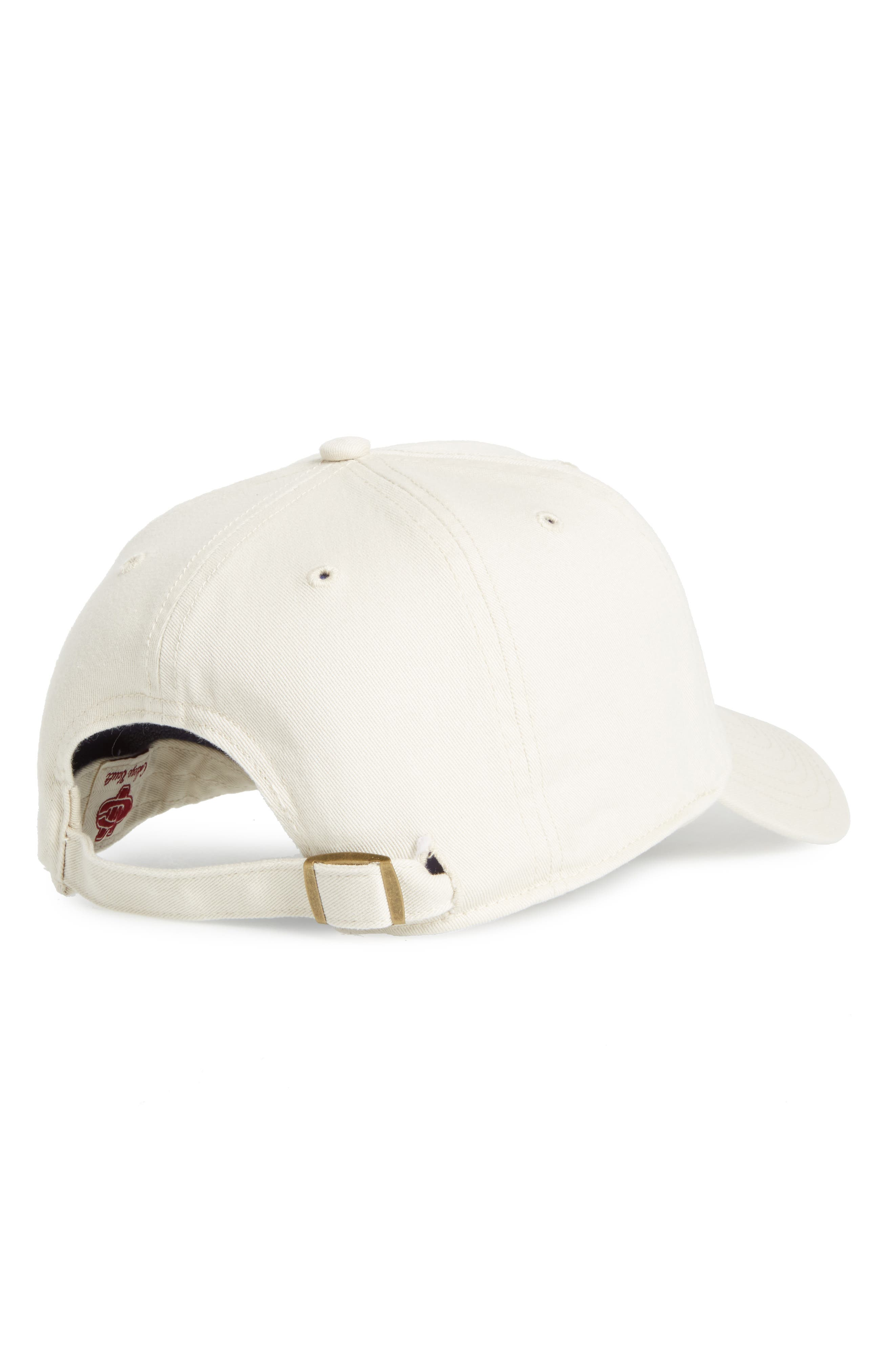 Texas A&M Clean Up Baseball Cap,                             Alternate thumbnail 2, color,                             Natural