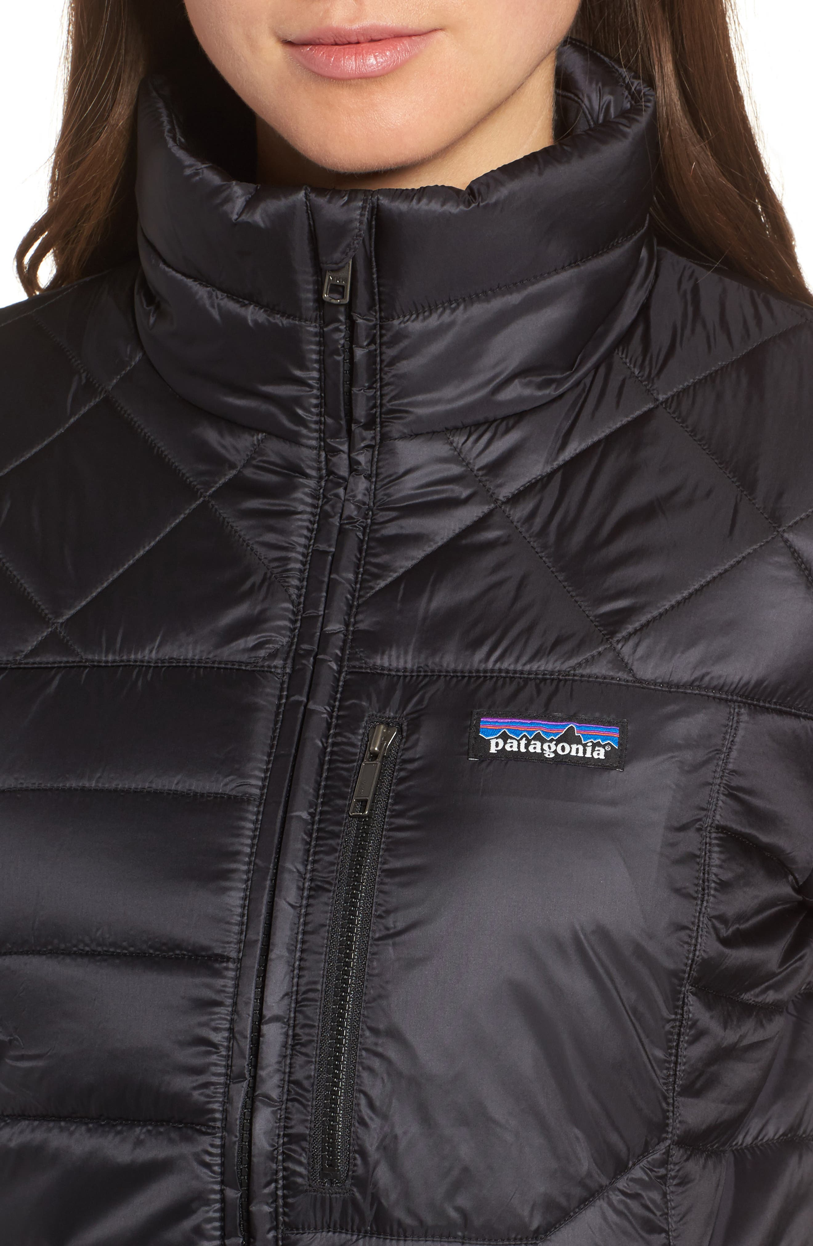 Radalie Water Repellent Thermogreen-Insulated Jacket,                             Alternate thumbnail 4, color,                             Black