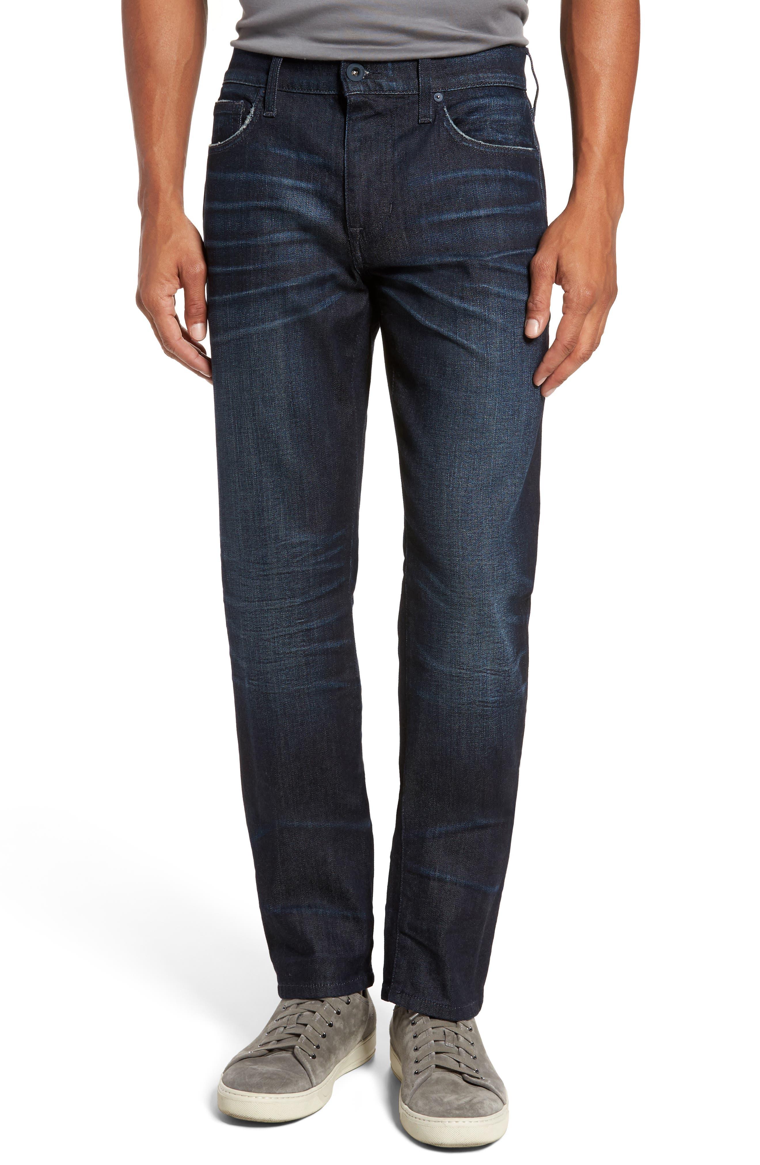 Brixton Slim Straight Fit Jeans,                             Main thumbnail 1, color,                             Maag
