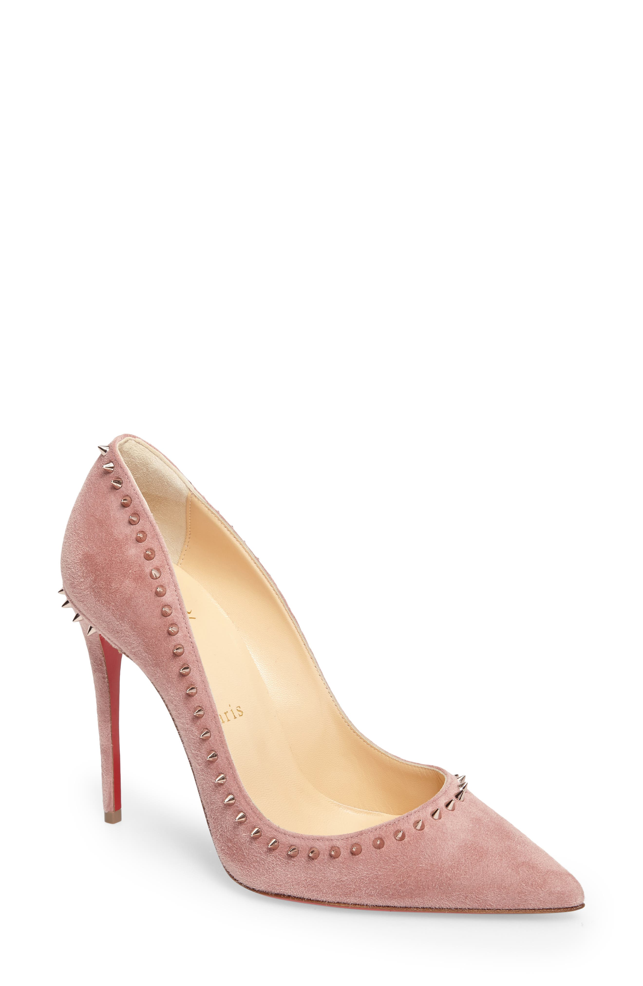 Christian Louboutin Anjalina Pointy Toe Pump (Women)
