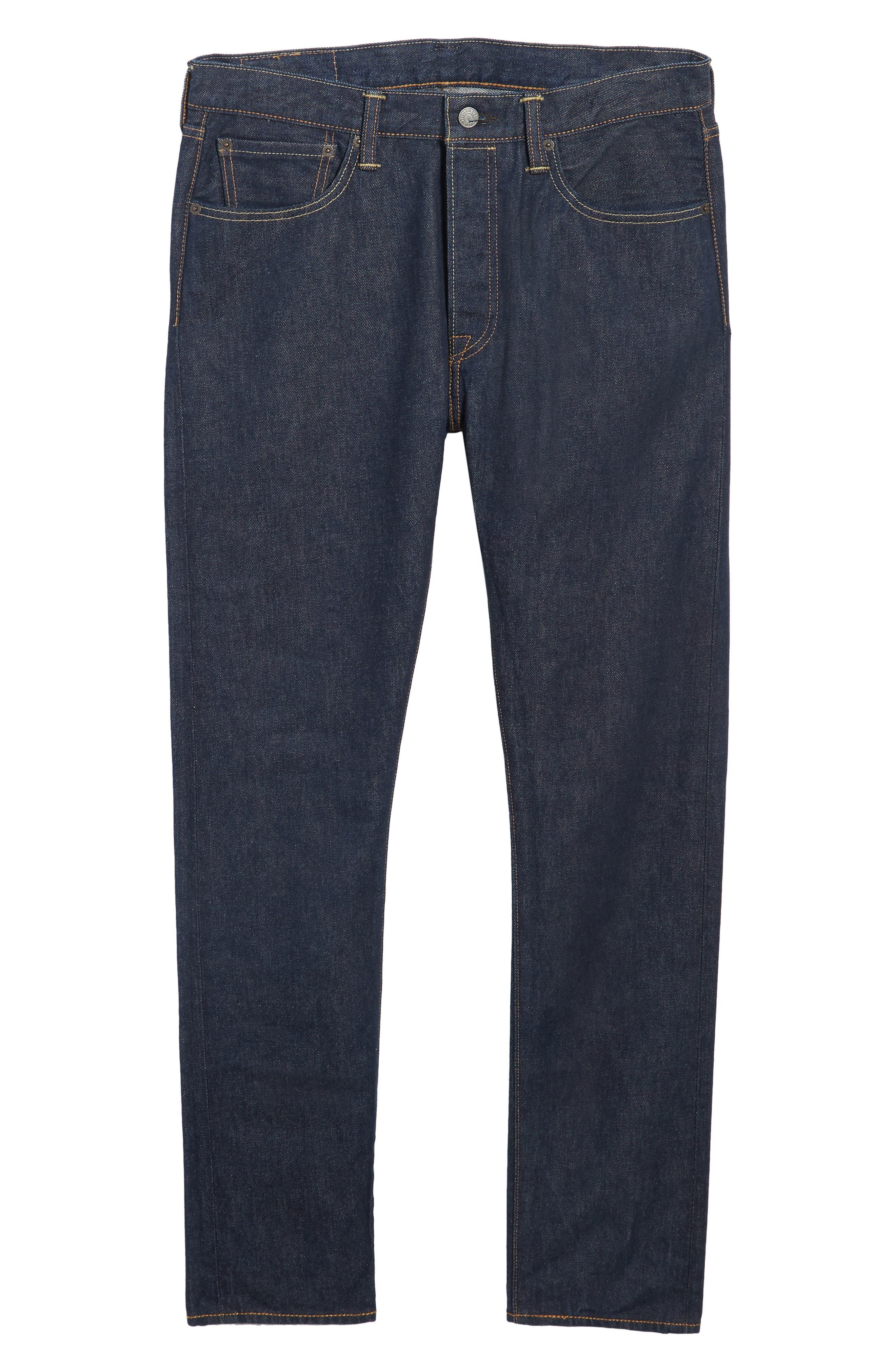 501<sup>™</sup> Skinny Leg Jeans,                             Alternate thumbnail 6, color,                             Noten
