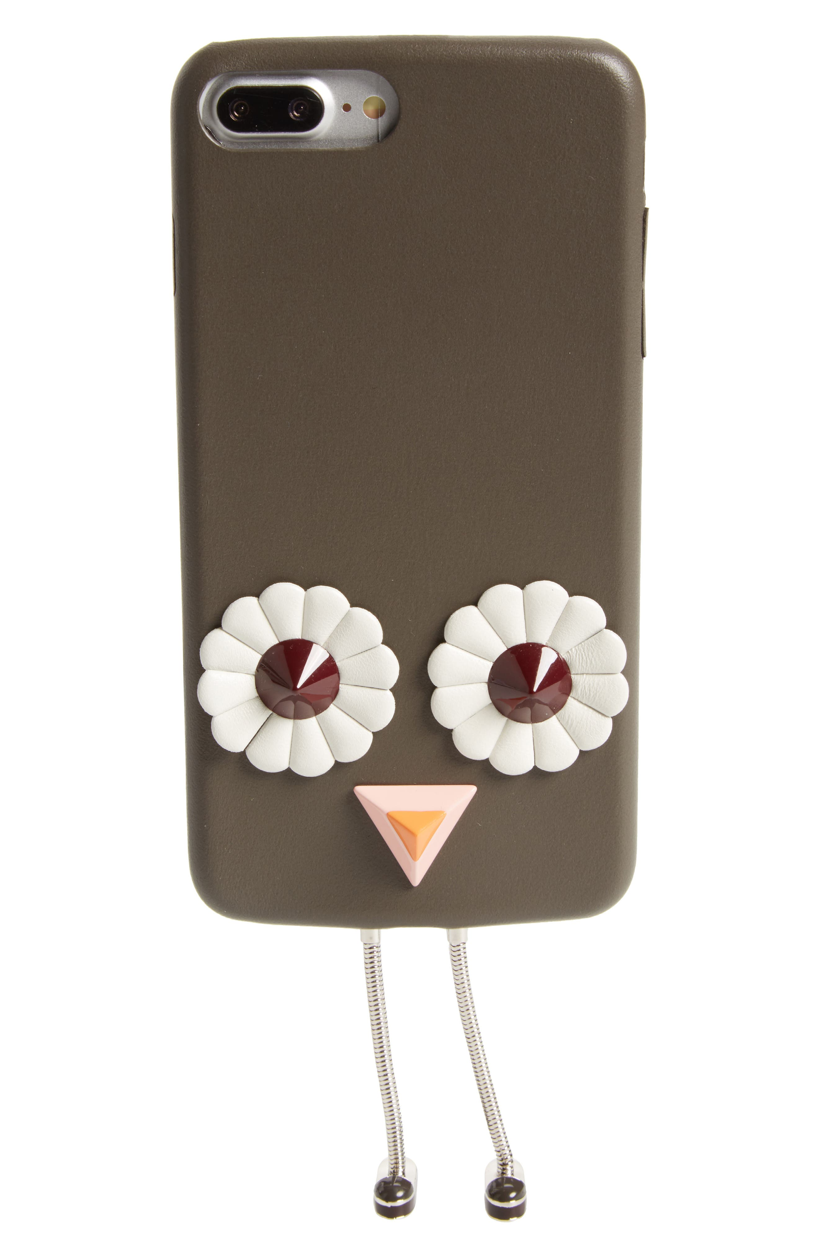 Century Legs iPhone 7 Plus Case,                             Main thumbnail 1, color,                             Coal/White/Multi