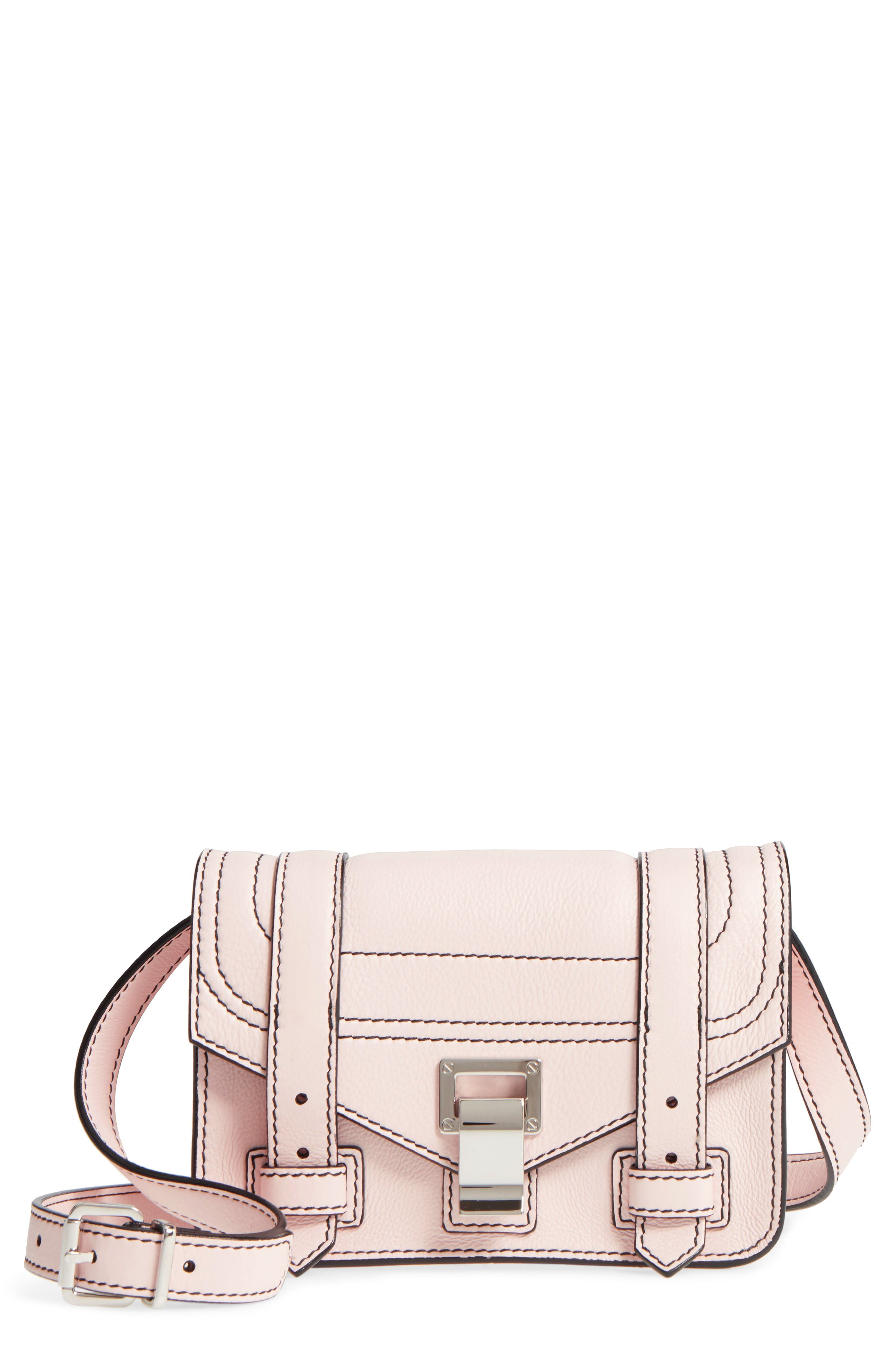 Alternate Image 1 Selected - Proenza Schouler Mini PS1 Leather Crossbody Bag