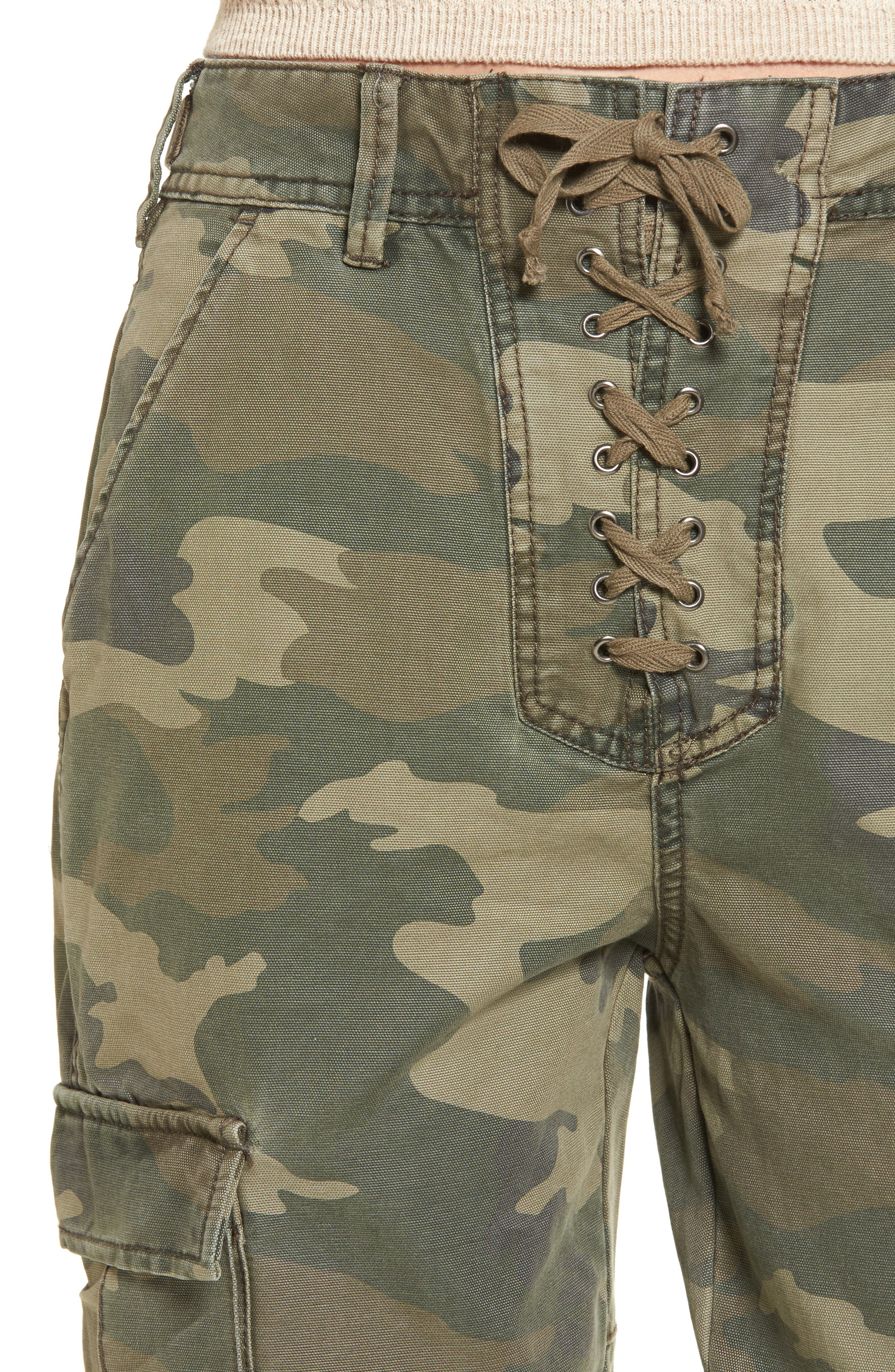 Alternate Image 4  - AFRM Sullivan Army Cargo Jogger Pants
