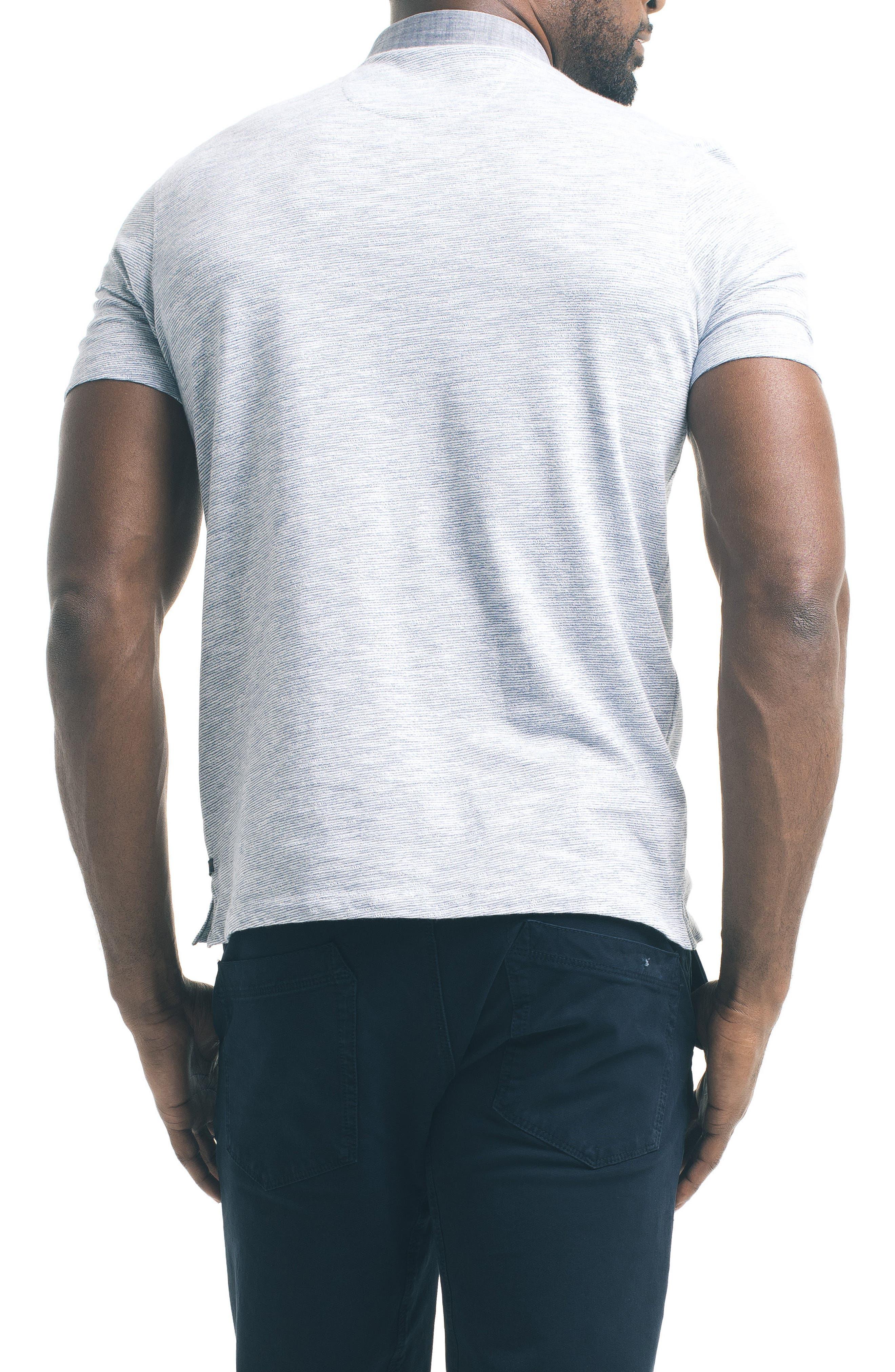 Alternate Image 2  - Good Man Brand Trim Fit Carbon Peach Polo