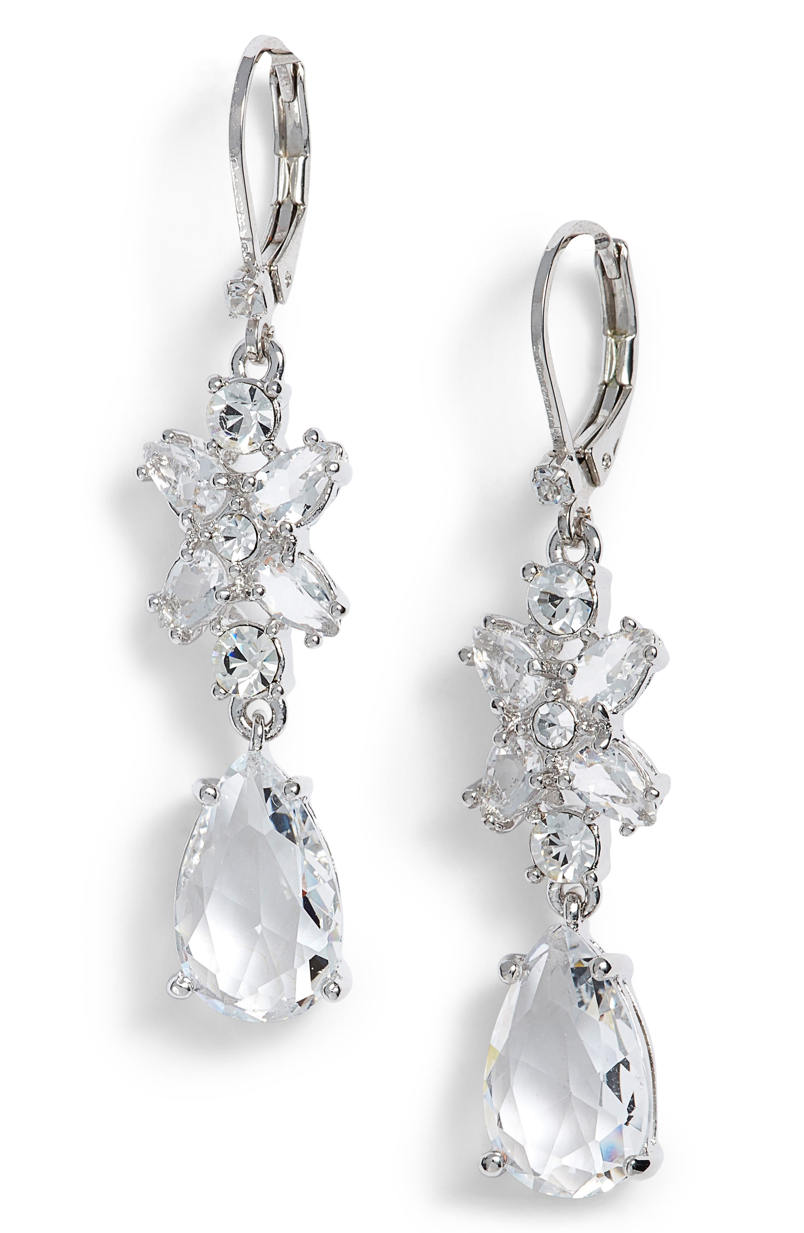 Alternate Image 1 Selected - kate spade new york take a shine drop earrings