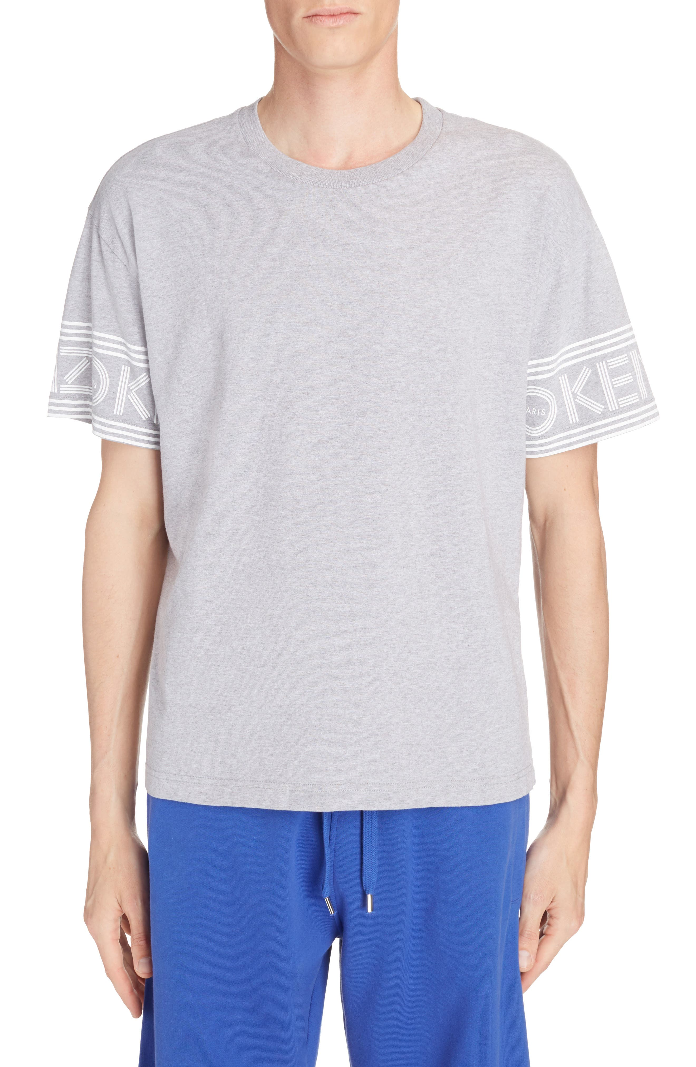 Graphic T-Shirt,                         Main,                         color, Dove Grey