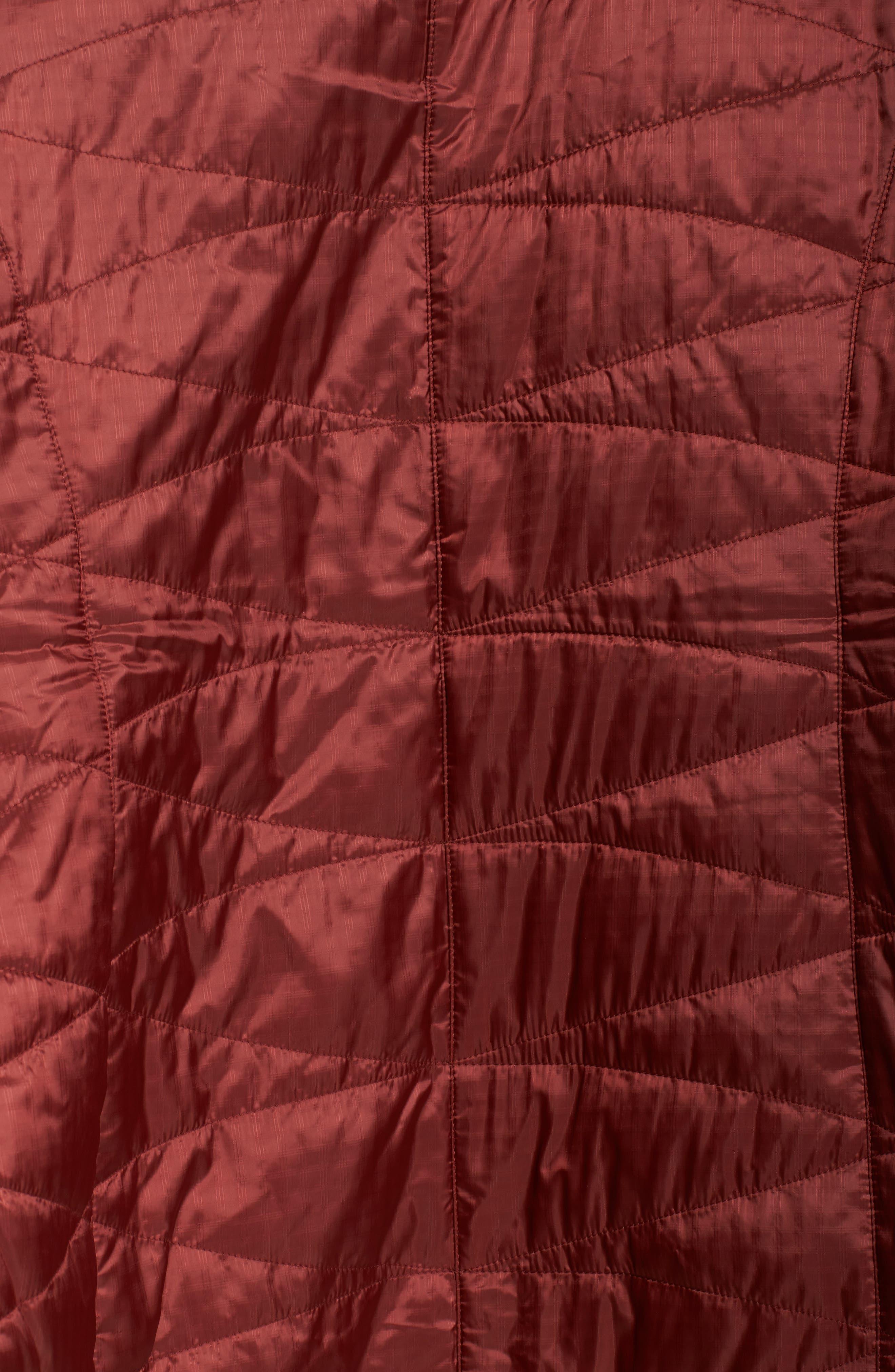 Mighty Lite Hooded Jacket,                             Alternate thumbnail 5, color,                             Deep Rust