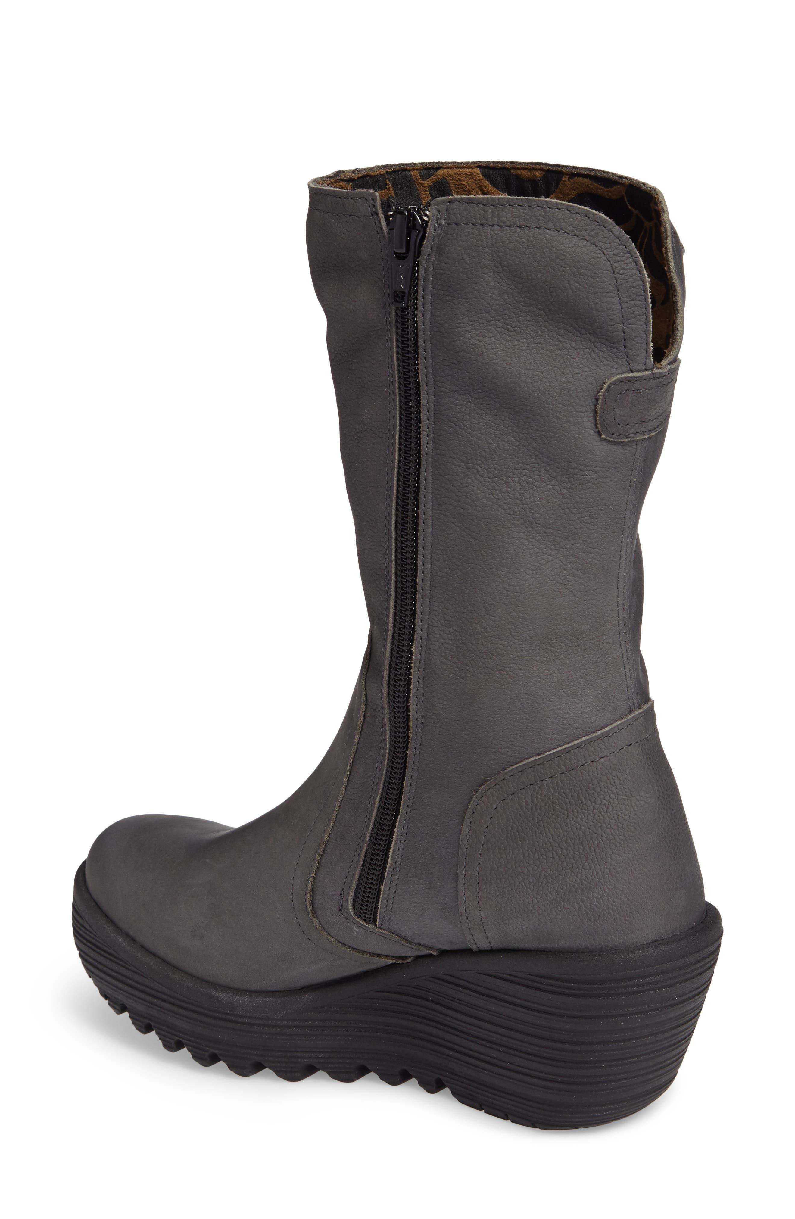 Alternate Image 2  - Fly London Yups Waterproof Gore-Tex® Wedge Boot (Women)