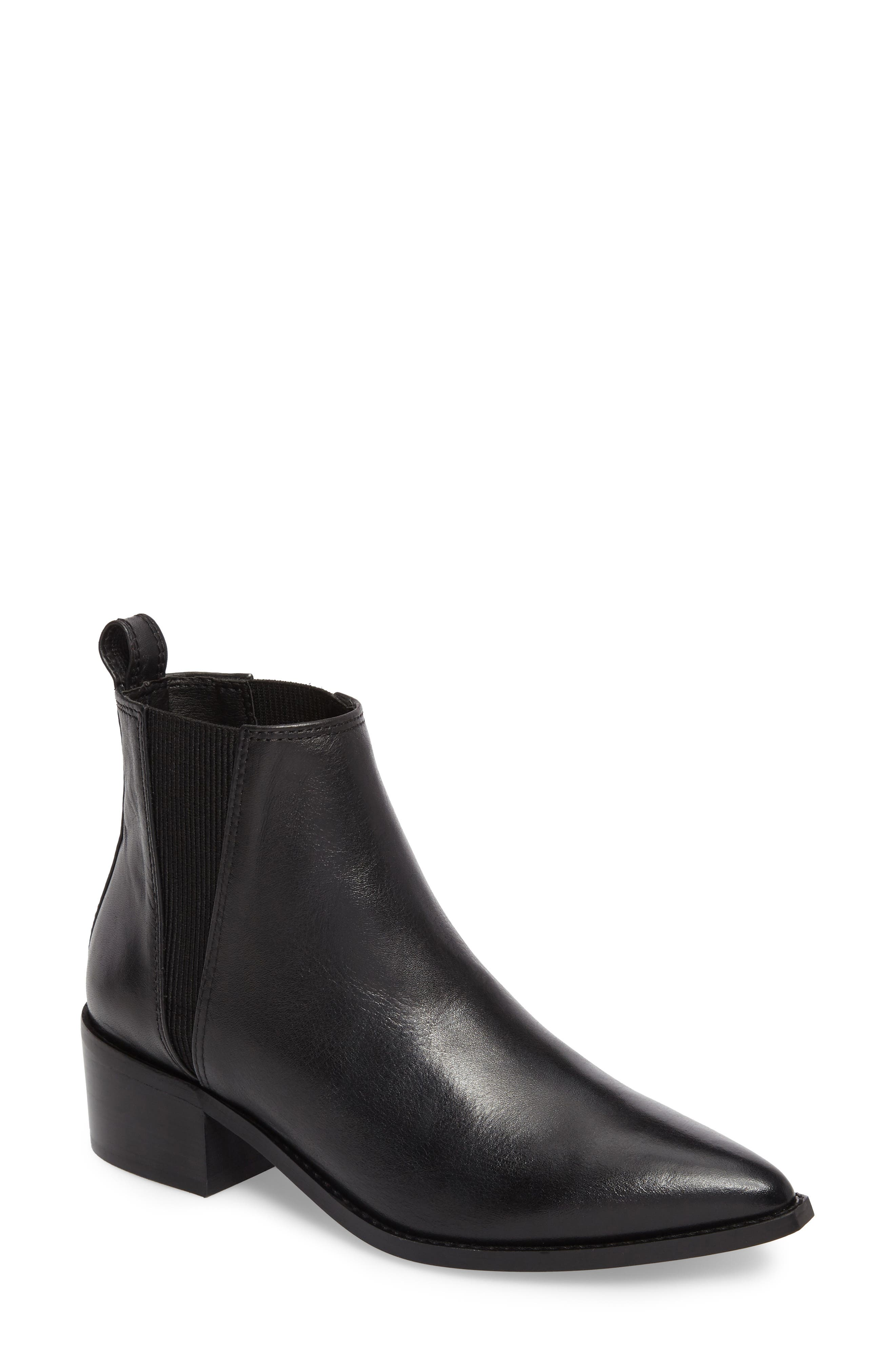 Ula Chelsea Bootie,                         Main,                         color, Black