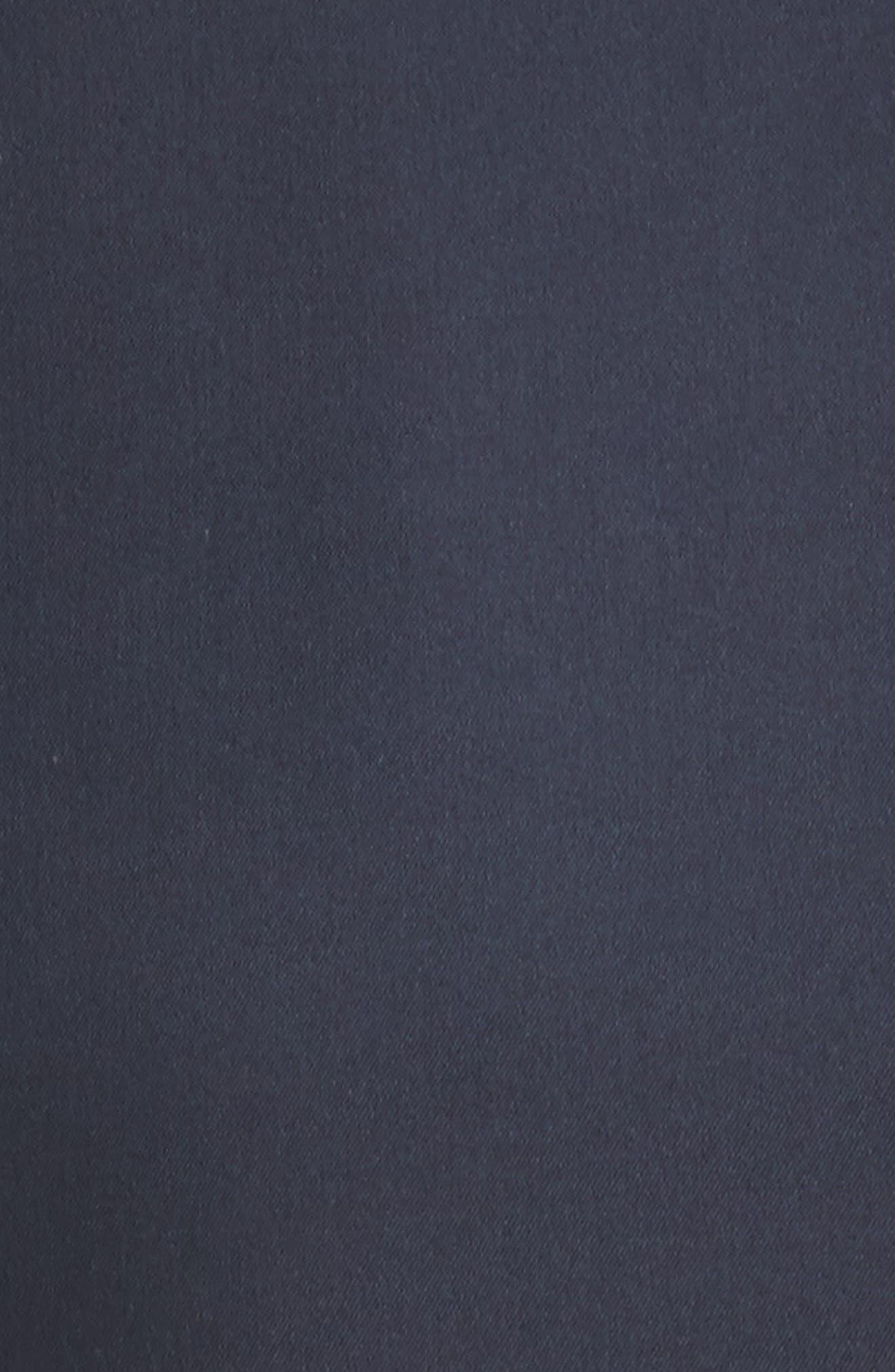 Alternate Image 5  - Calvin Klein 205W39NYC Cotton & Silk Dress