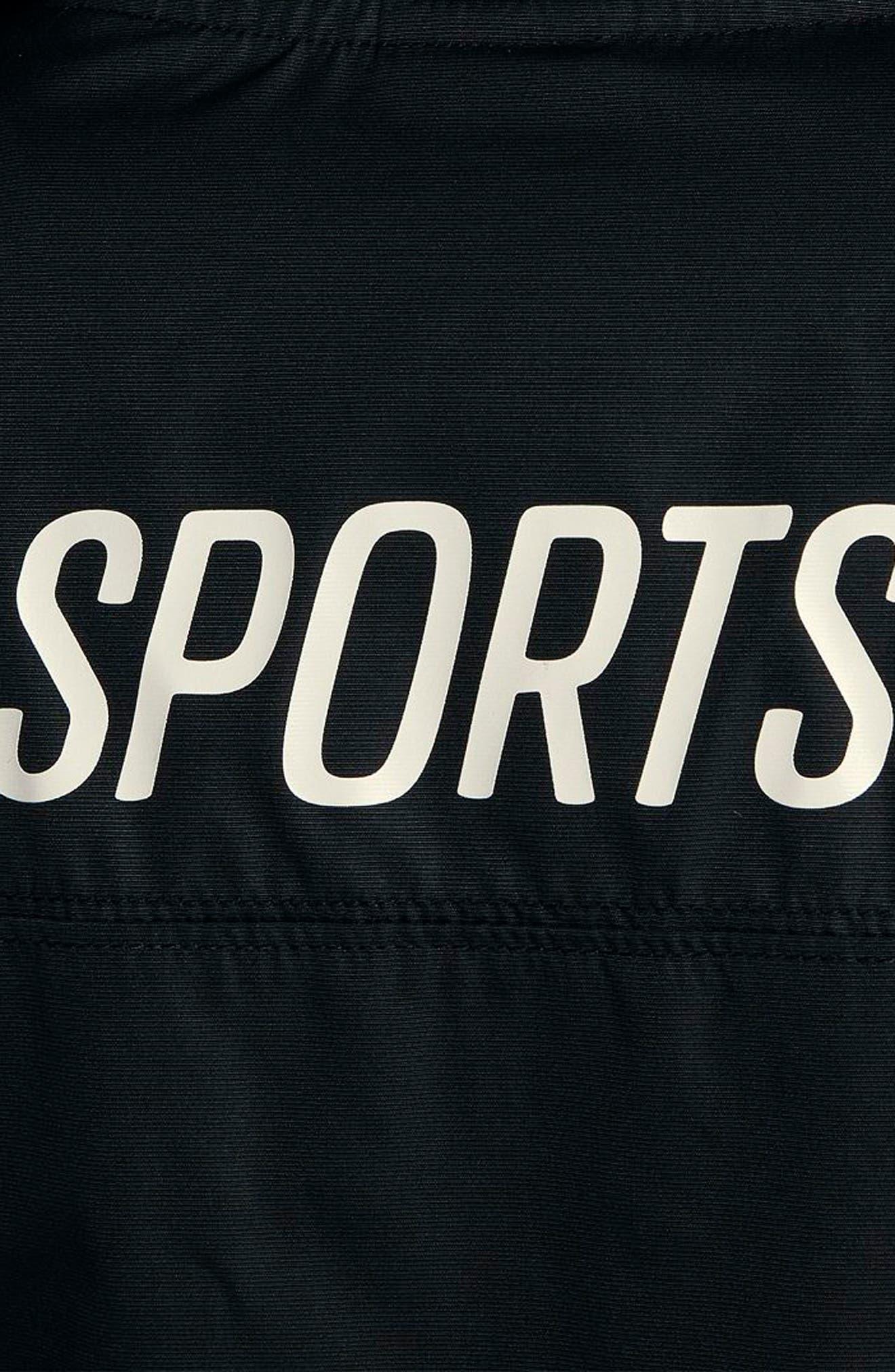 Sportswear Archive Jacket,                             Alternate thumbnail 6, color,                             Black/ Sail