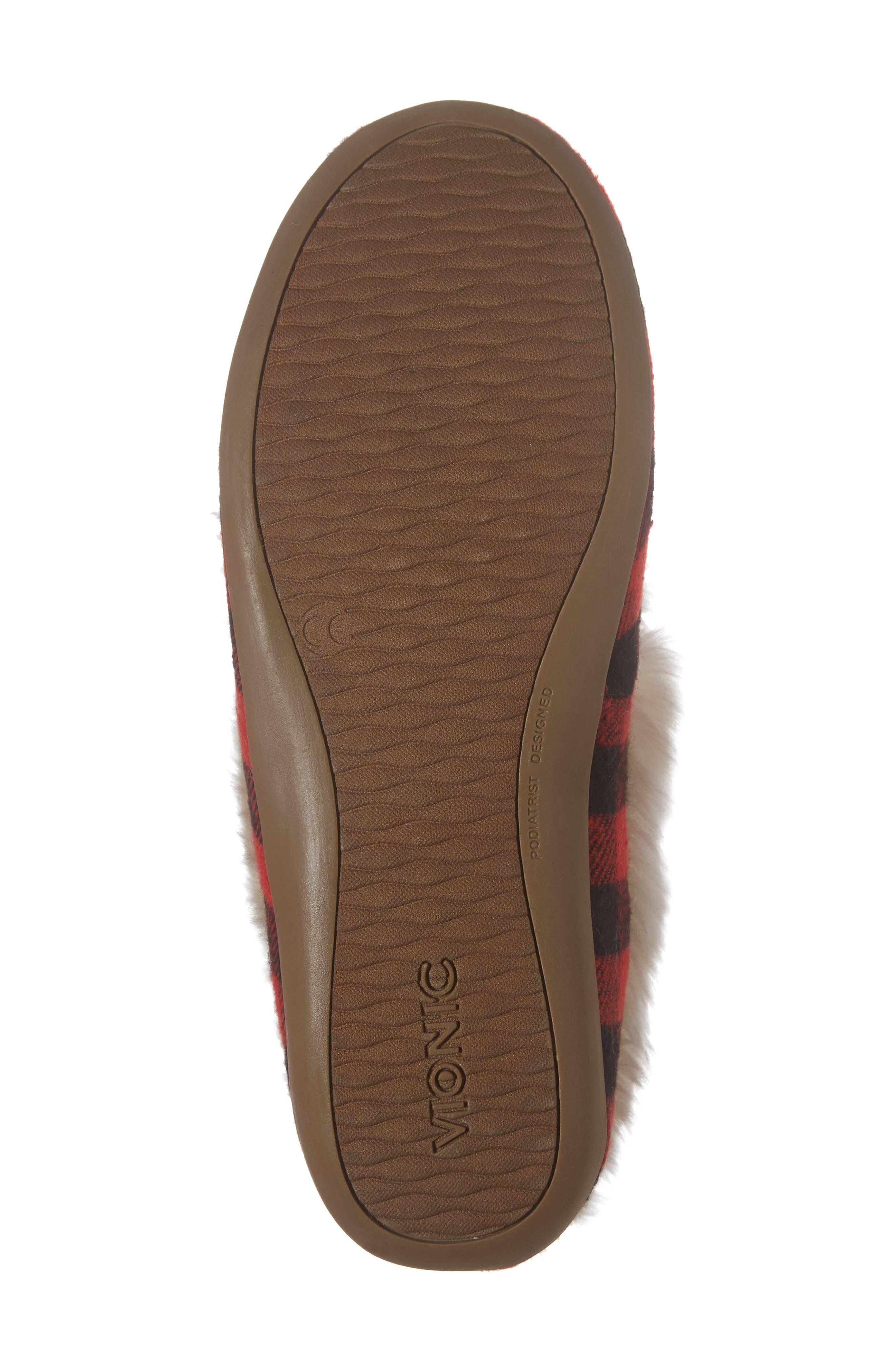 Alternate Image 6  - Vionic Juniper Faux Fur Slipper (Women)