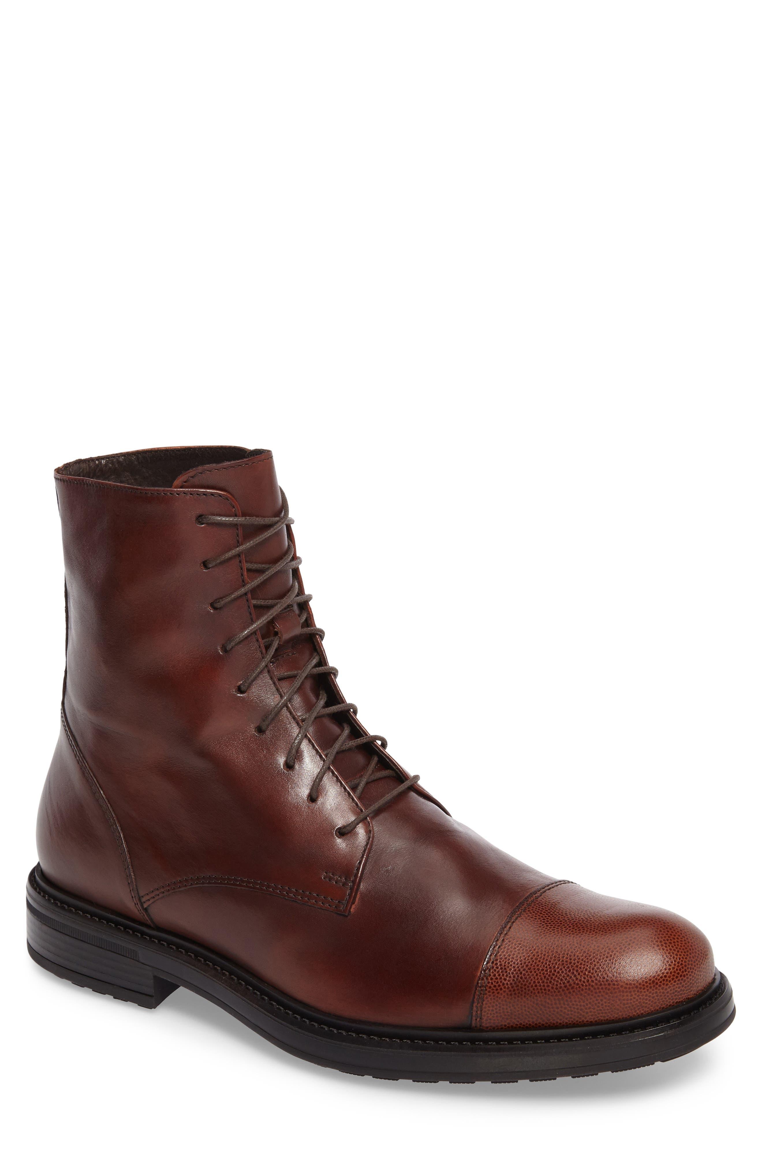 Donald J Pliner Otis Plain Toe Boot (Men)