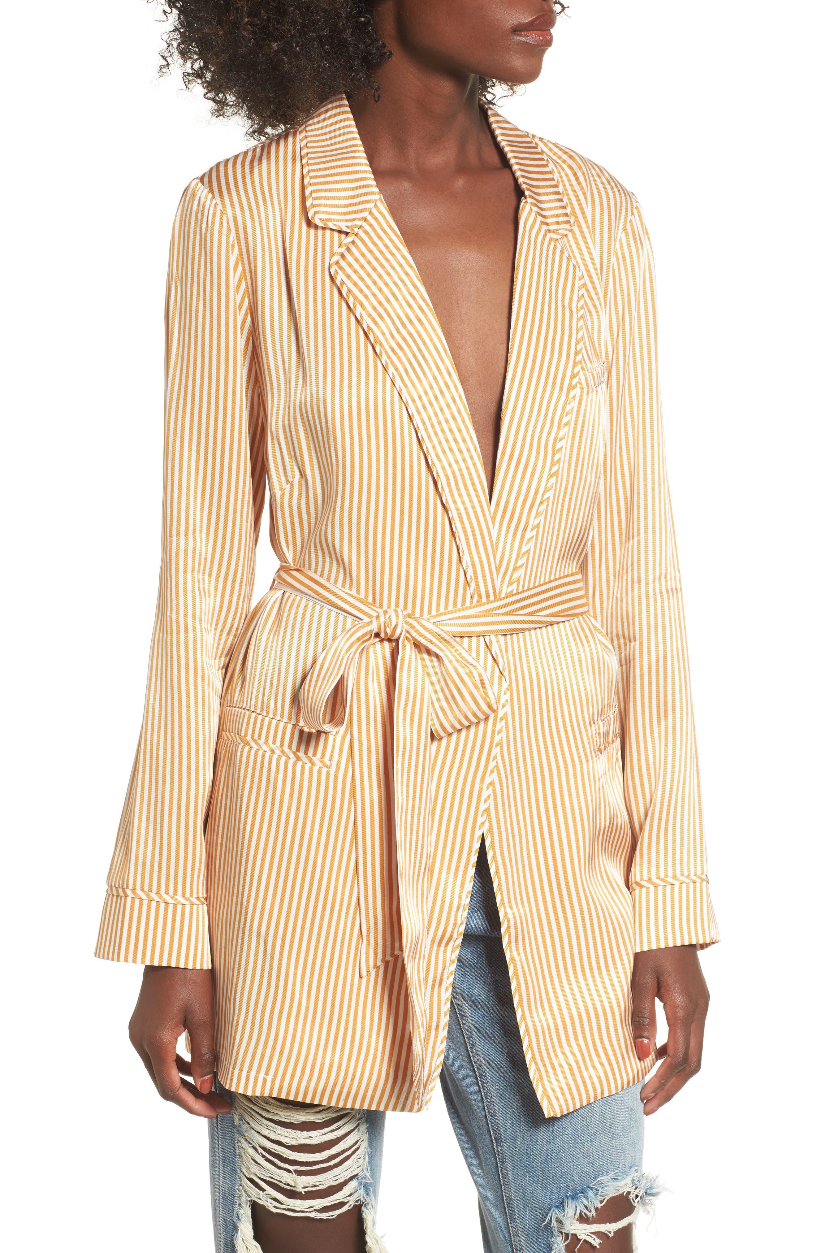 AFRM Blake Print Wrap Jacket