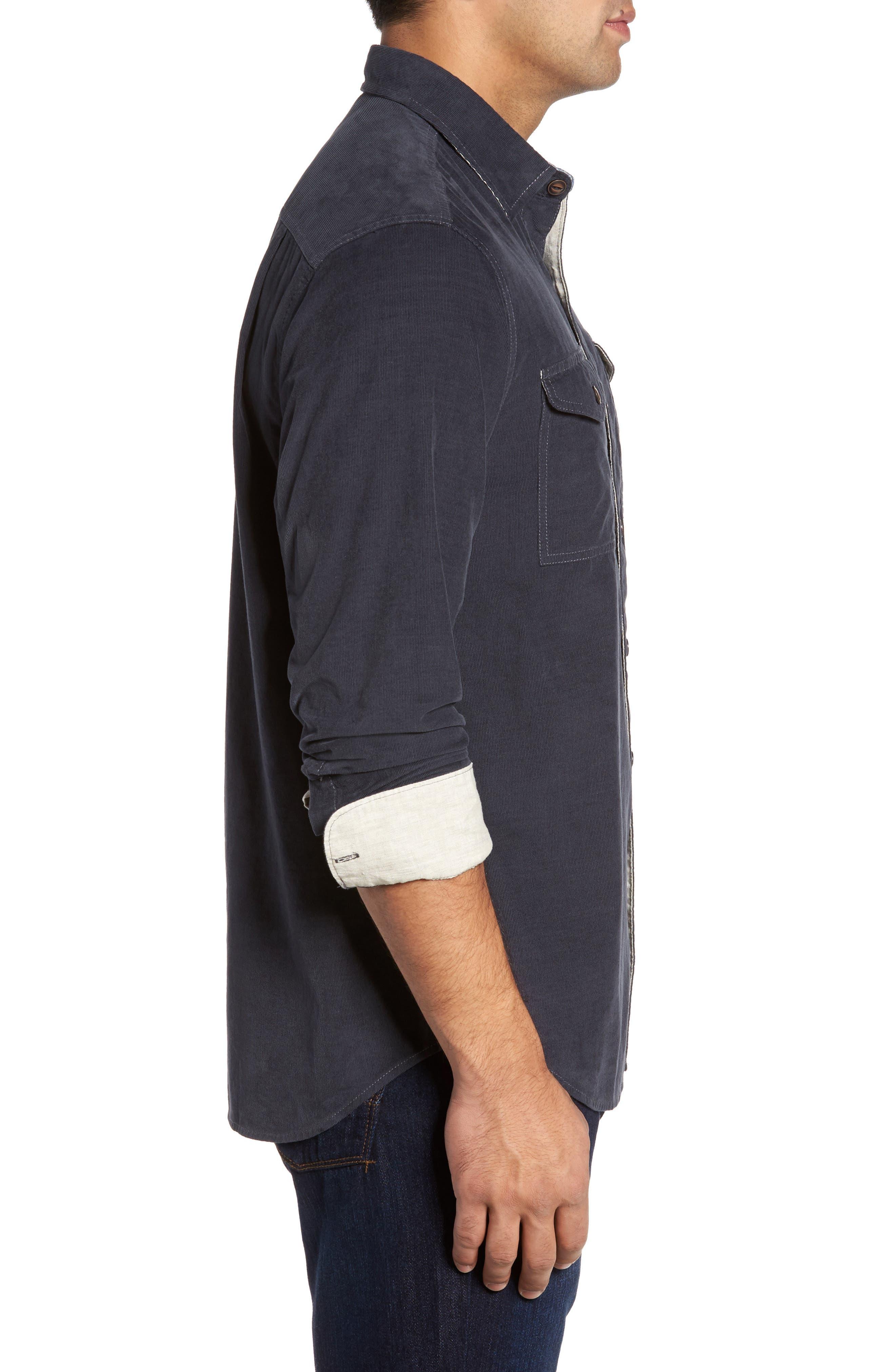Alternate Image 3  - Tommy Bahama Harrison Cord Standard Fit Shirt