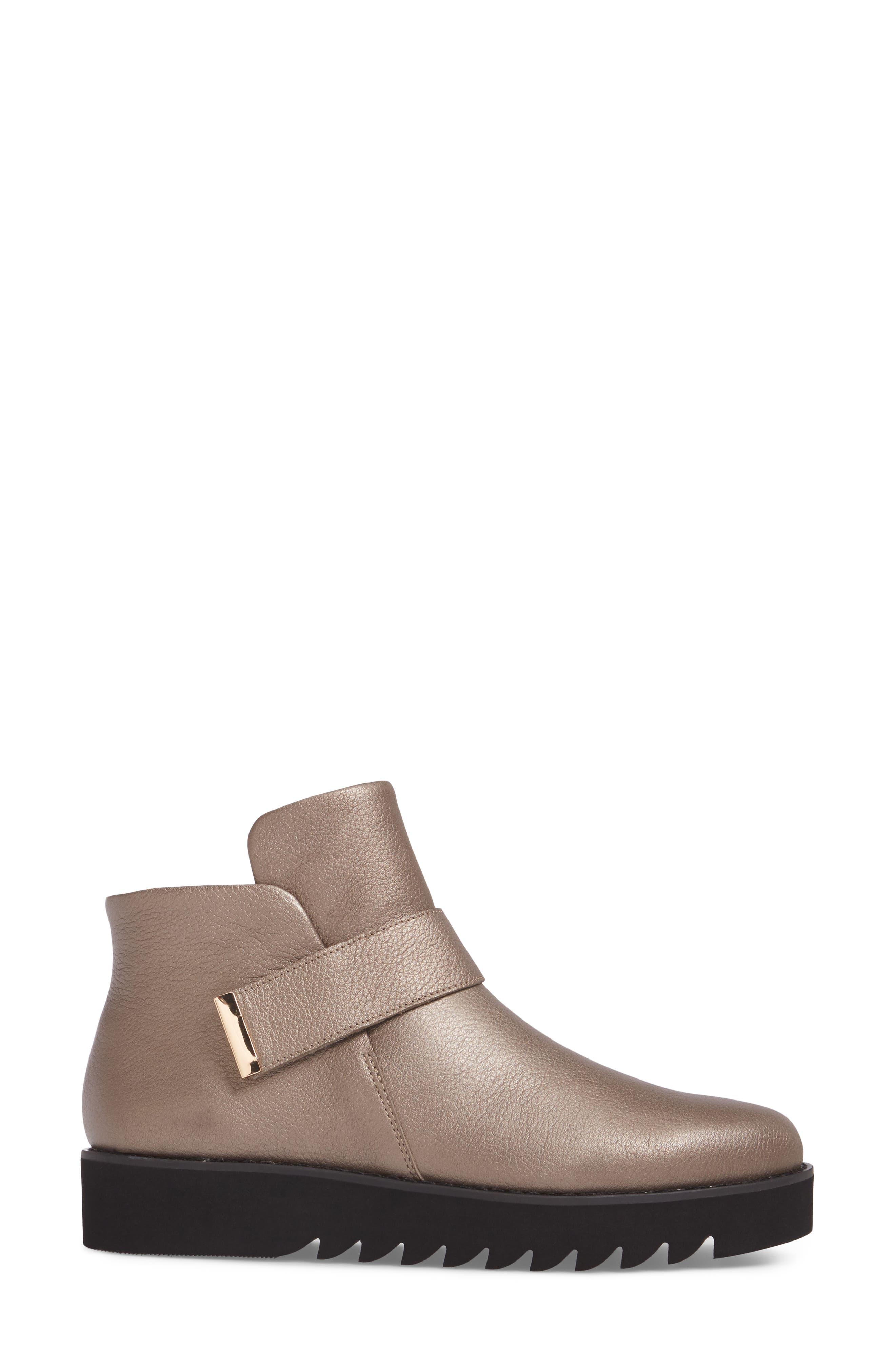 Kris Boot,                             Alternate thumbnail 3, color,                             Copper Leather