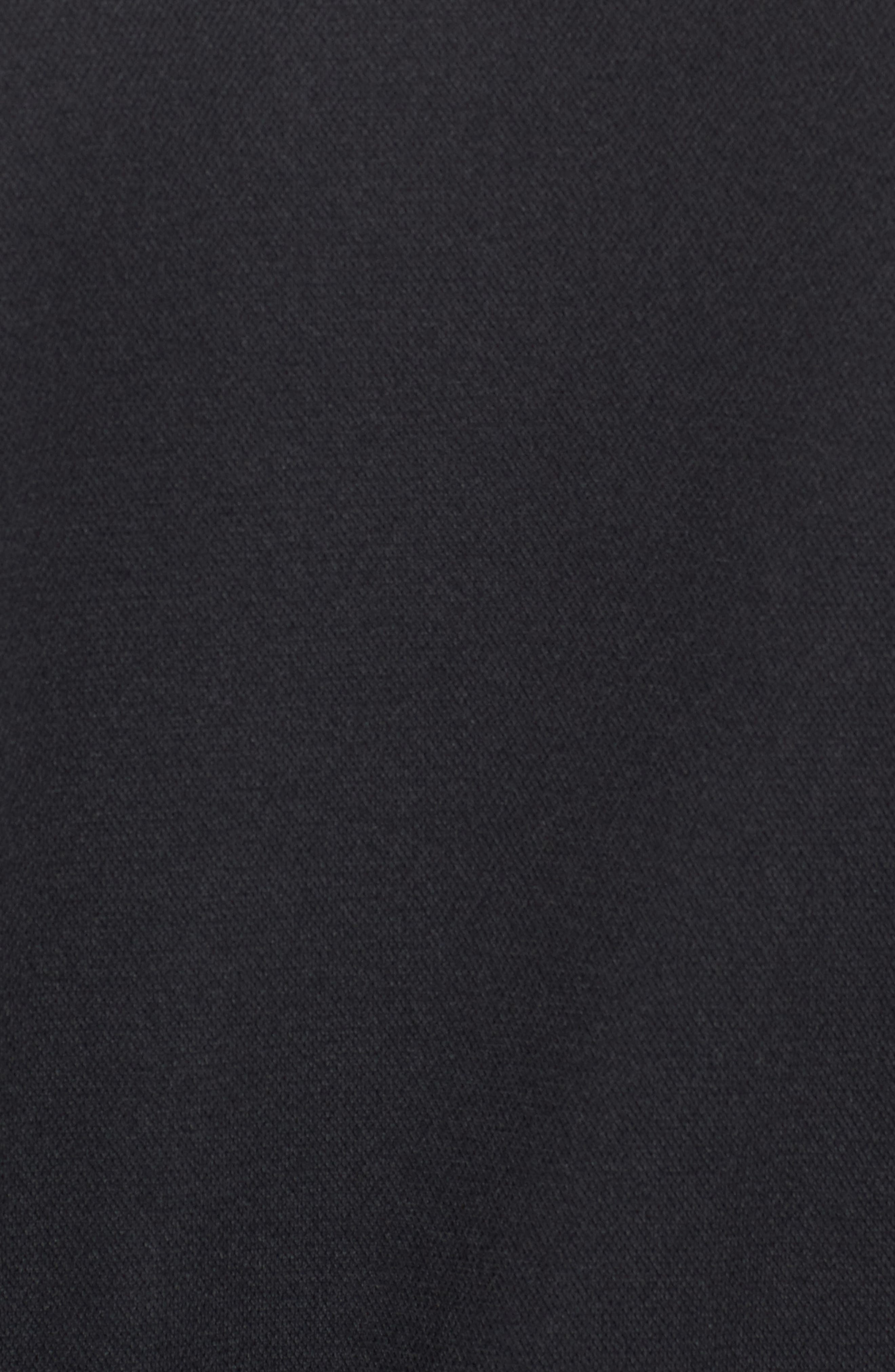 Ultimate Flight Zip Jacket,                             Alternate thumbnail 6, color,                             Black/ Black