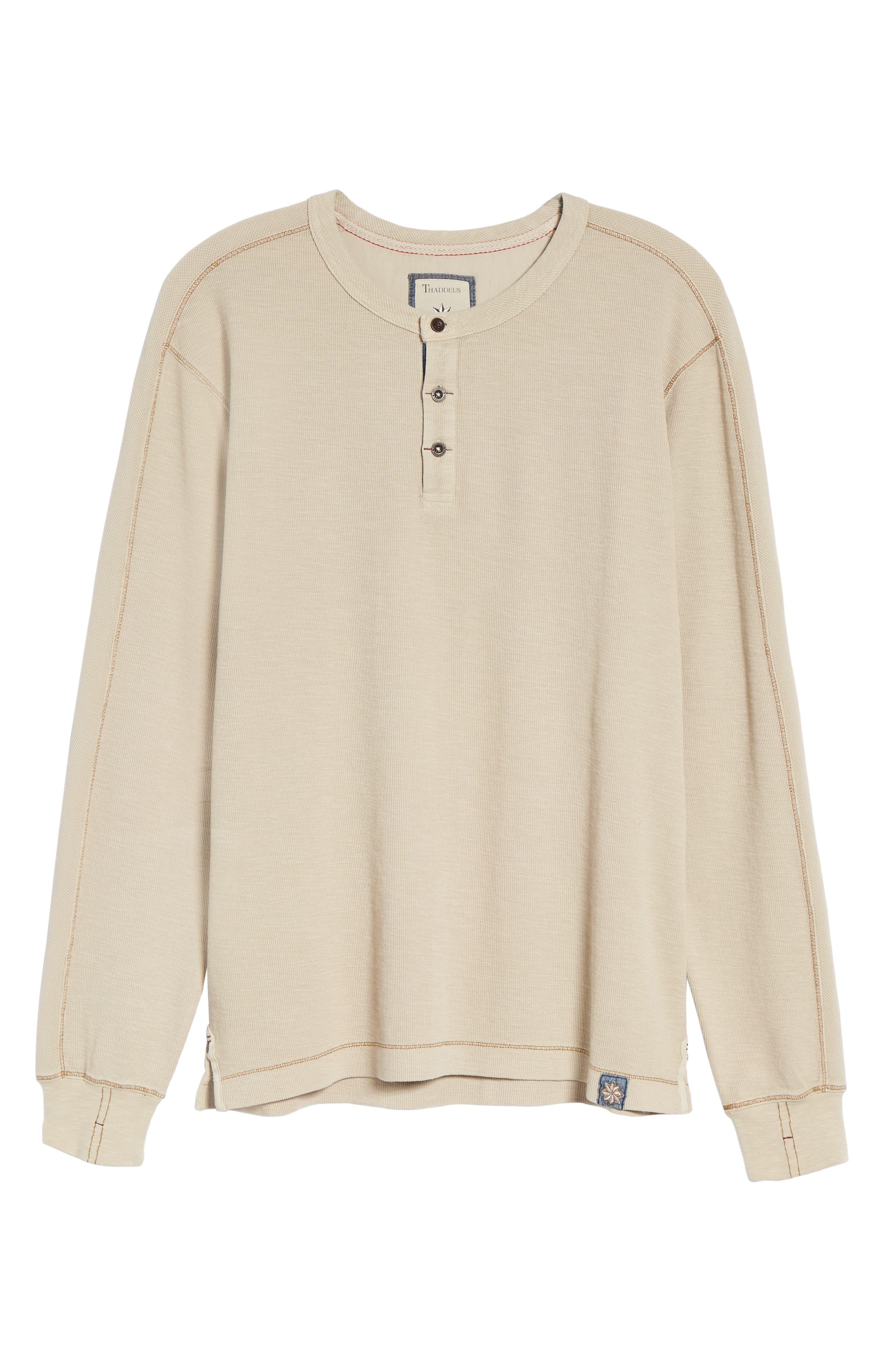 Alternate Image 5  - Thaddeus Hans Long Sleeve Henley T-Shirt