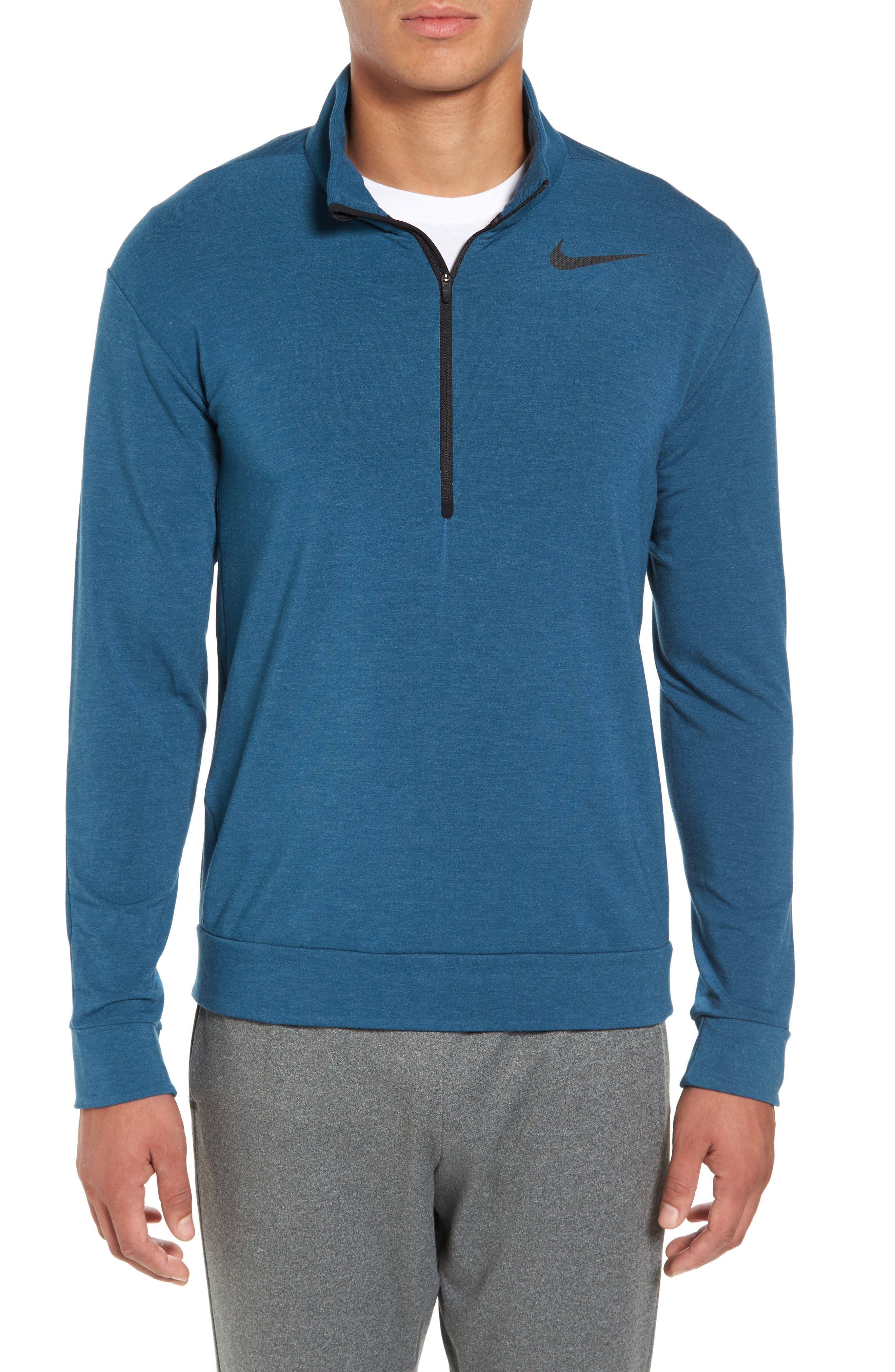 Nike Dry Training Quarter Zip Pullover