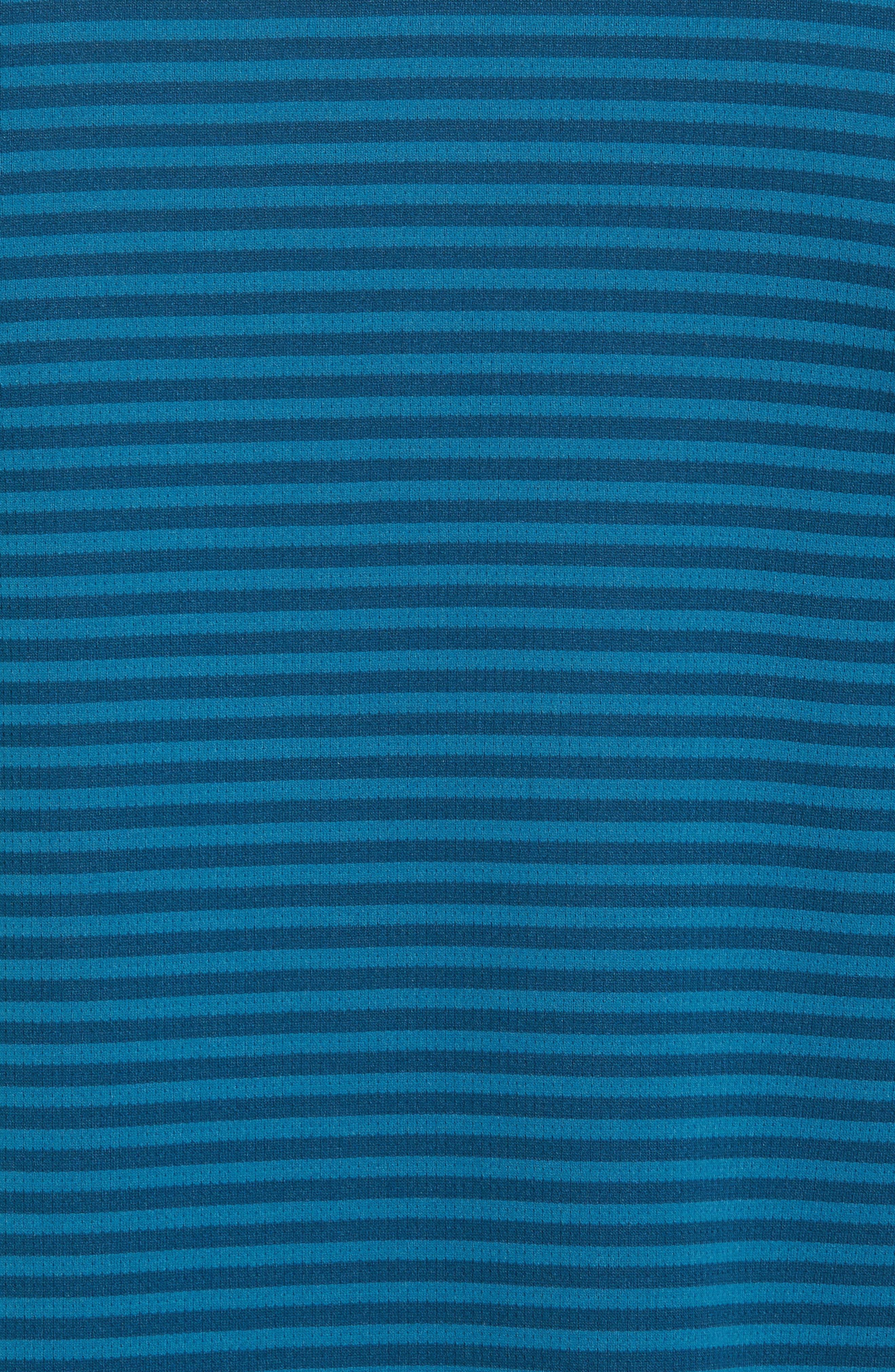 Climachill<sup>®</sup> Stripe Golf Polo,                             Alternate thumbnail 5, color,                             Blue