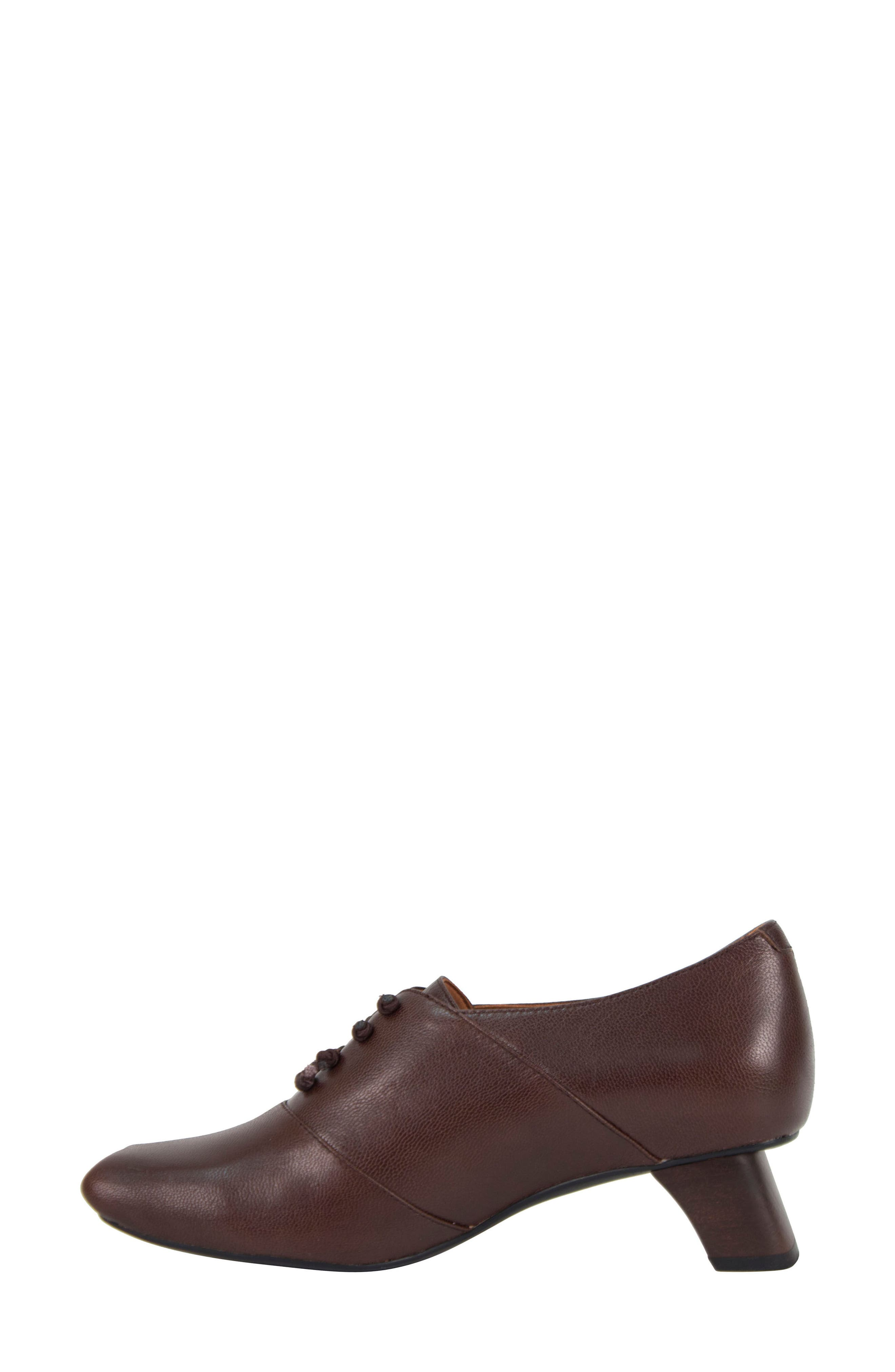 Winifred Lace-Up Bootie,                             Alternate thumbnail 4, color,                             Moro Leather