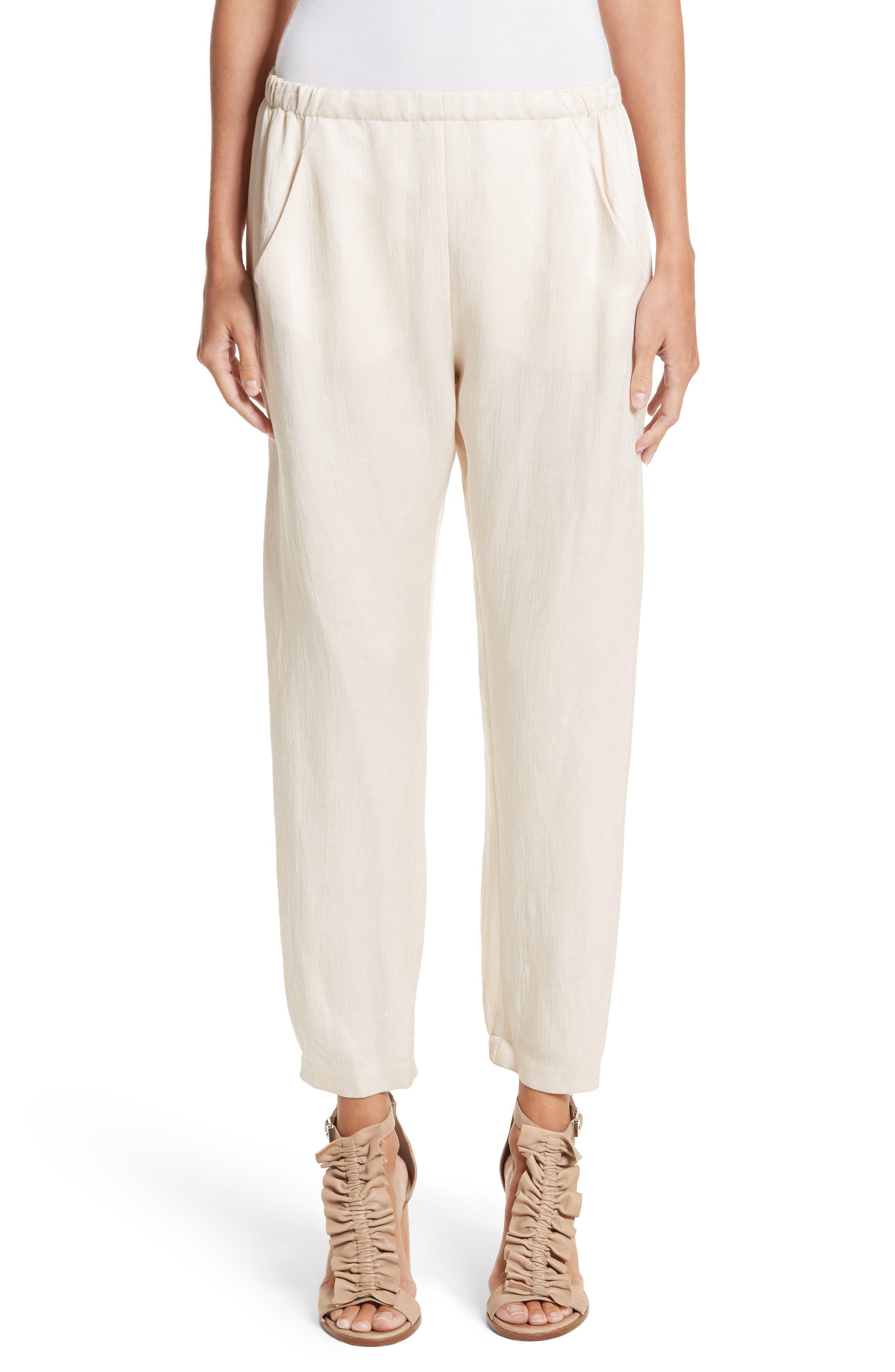 Alternate Image 1 Selected - Zero + Maria Cornejo Gabi Eco Drape Pants