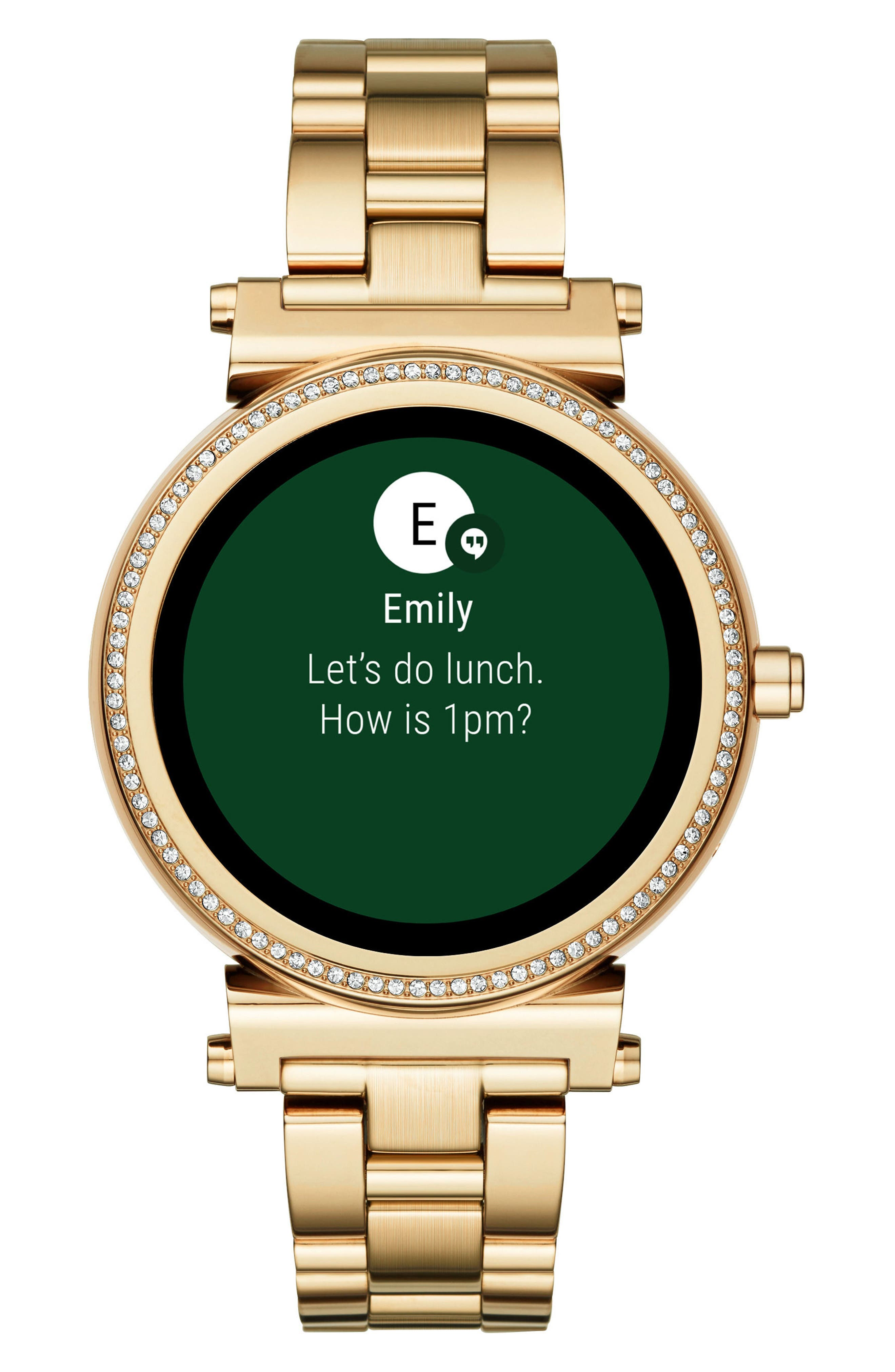 Alternate Image 2  - Michael Kors Access Sofie Smart Bracelet Watch, 42mm