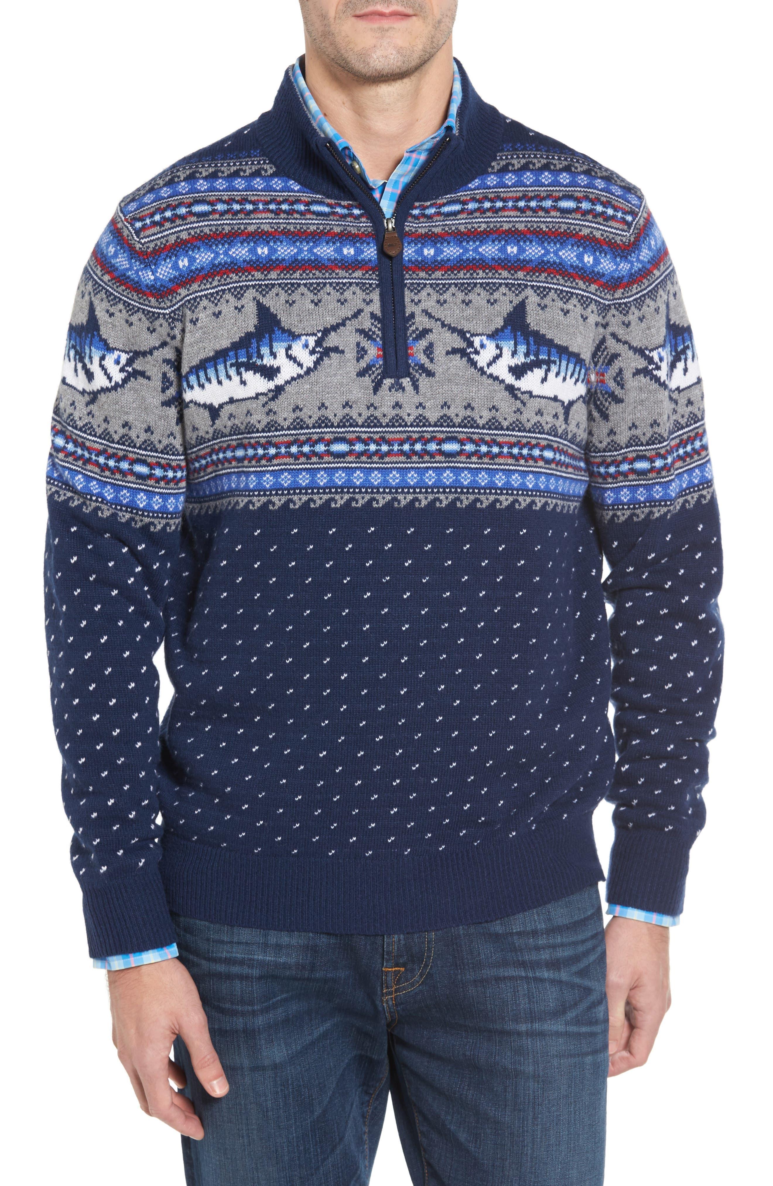 Men's Blue Wool Blend Sweaters | Nordstrom