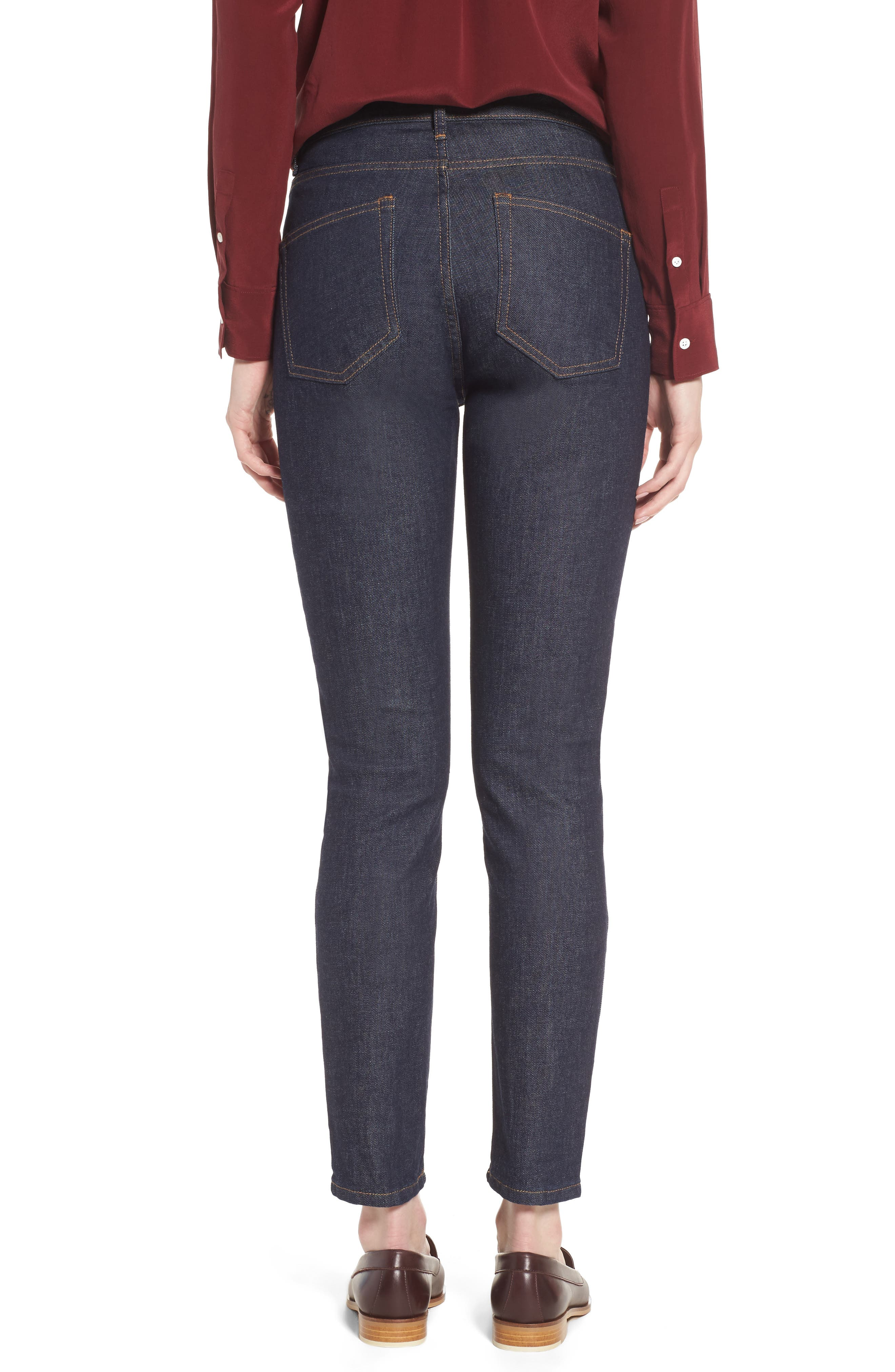 Alternate Image 2  - Everlane The High Rise Skinny Jeans
