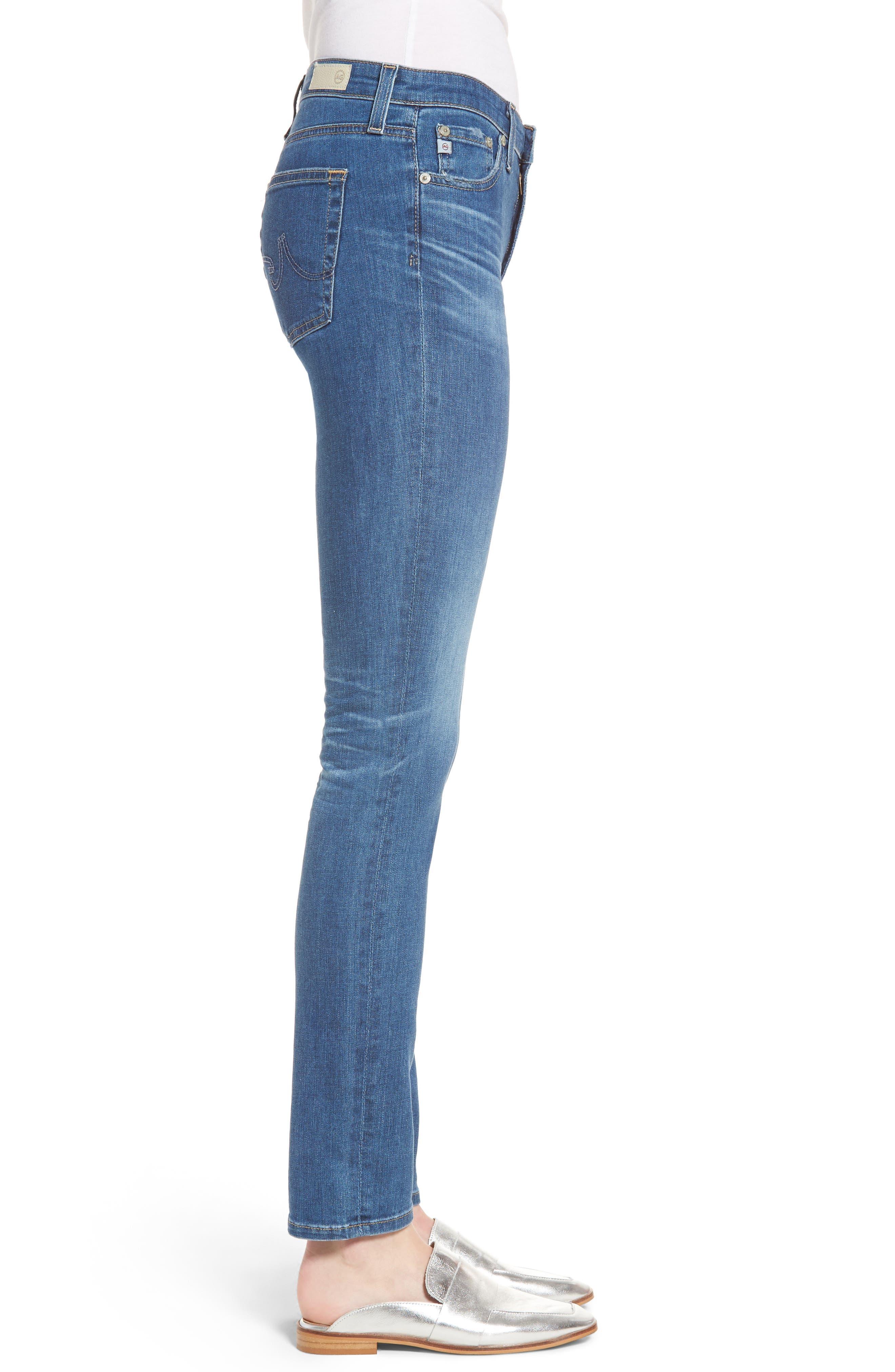 Alternate Image 3  - AG 'Prima' Skinny Jeans (14 Year Blue Nile)