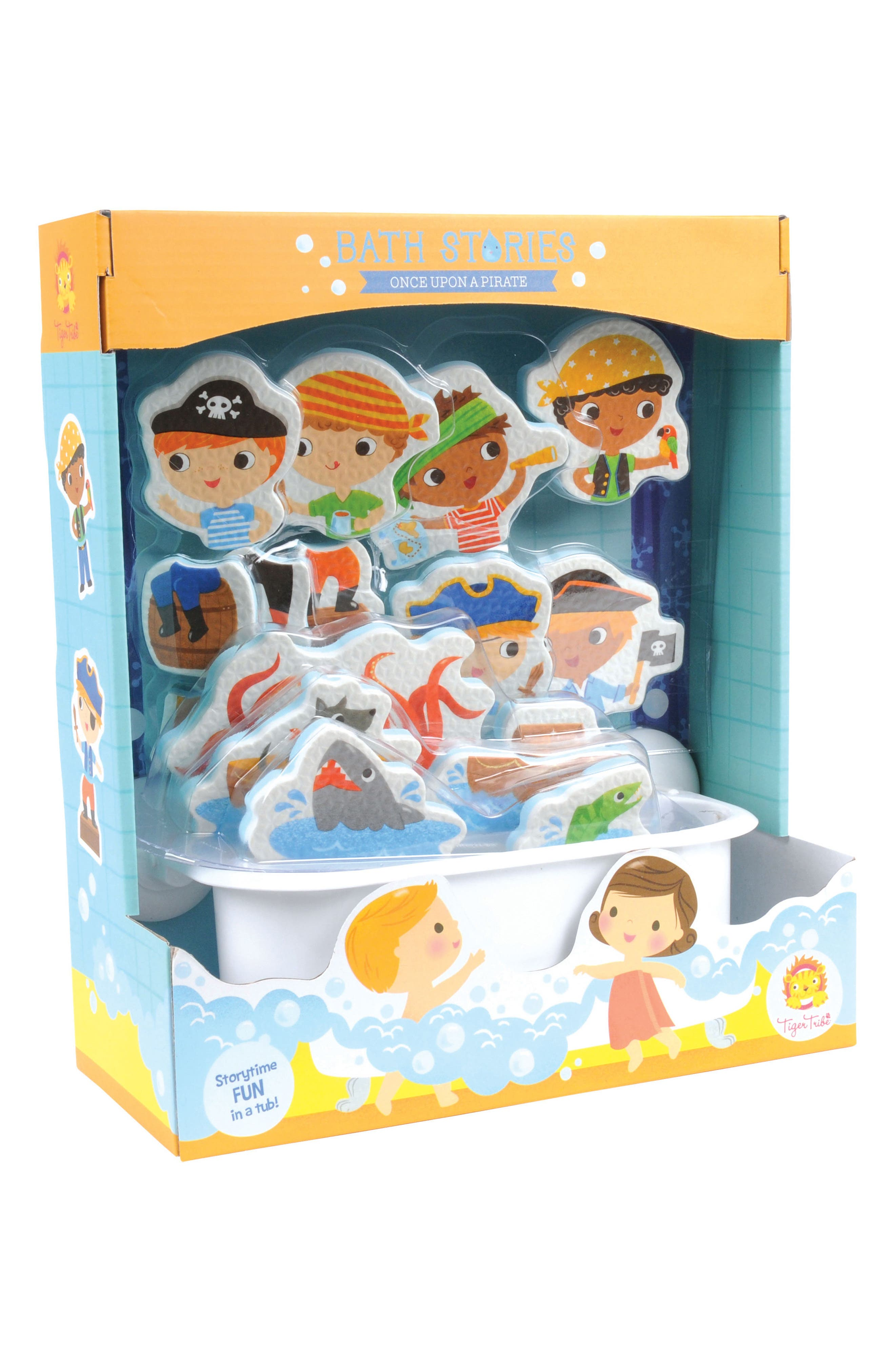 Tiger Tribe19-Piece Once Upon a Pirate Bath Stories Play Set