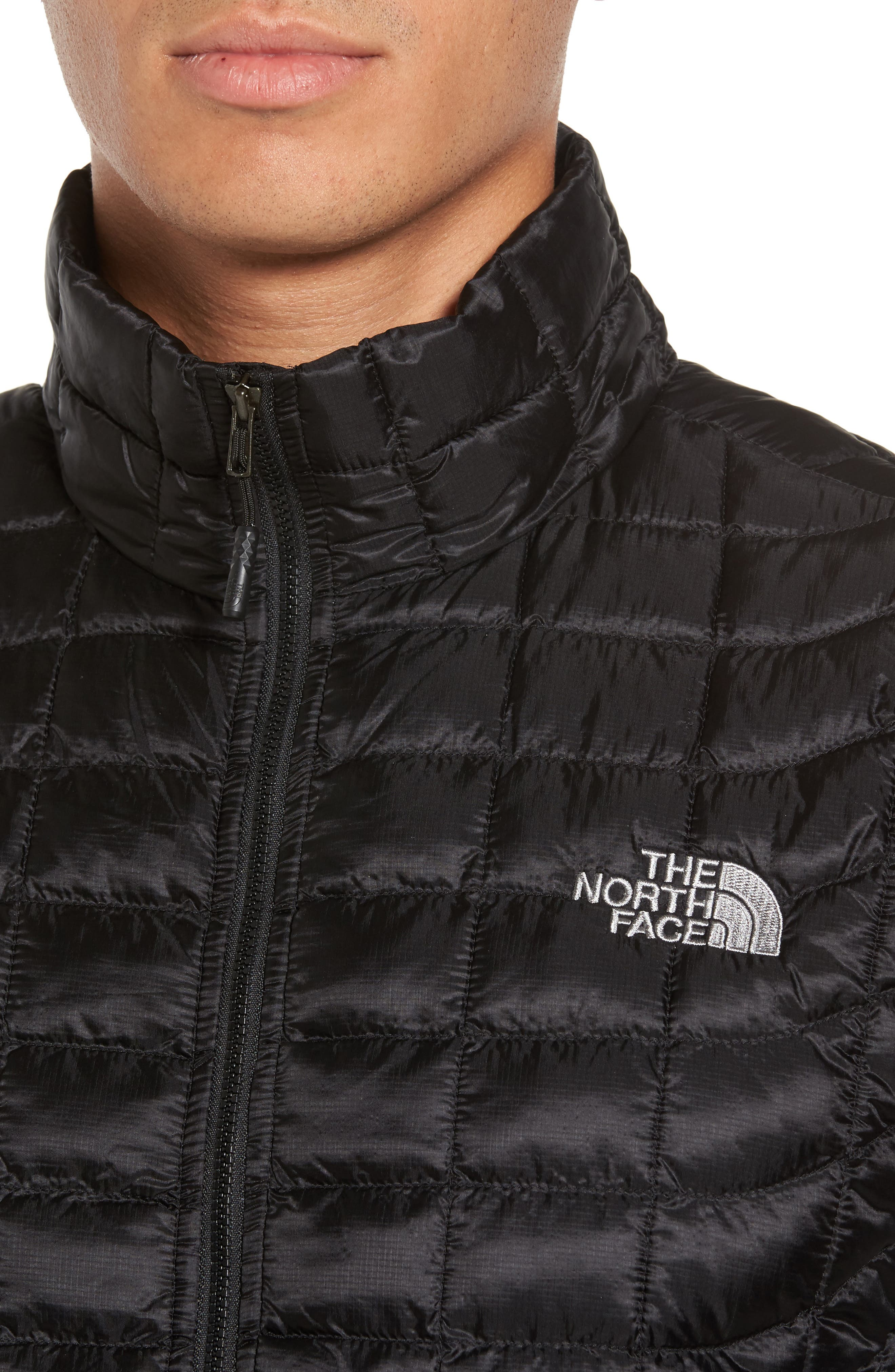 'ThermoBall<sup>™</sup>' Packable PrimaLoft<sup>®</sup> Vest,                             Alternate thumbnail 4, color,                             Black