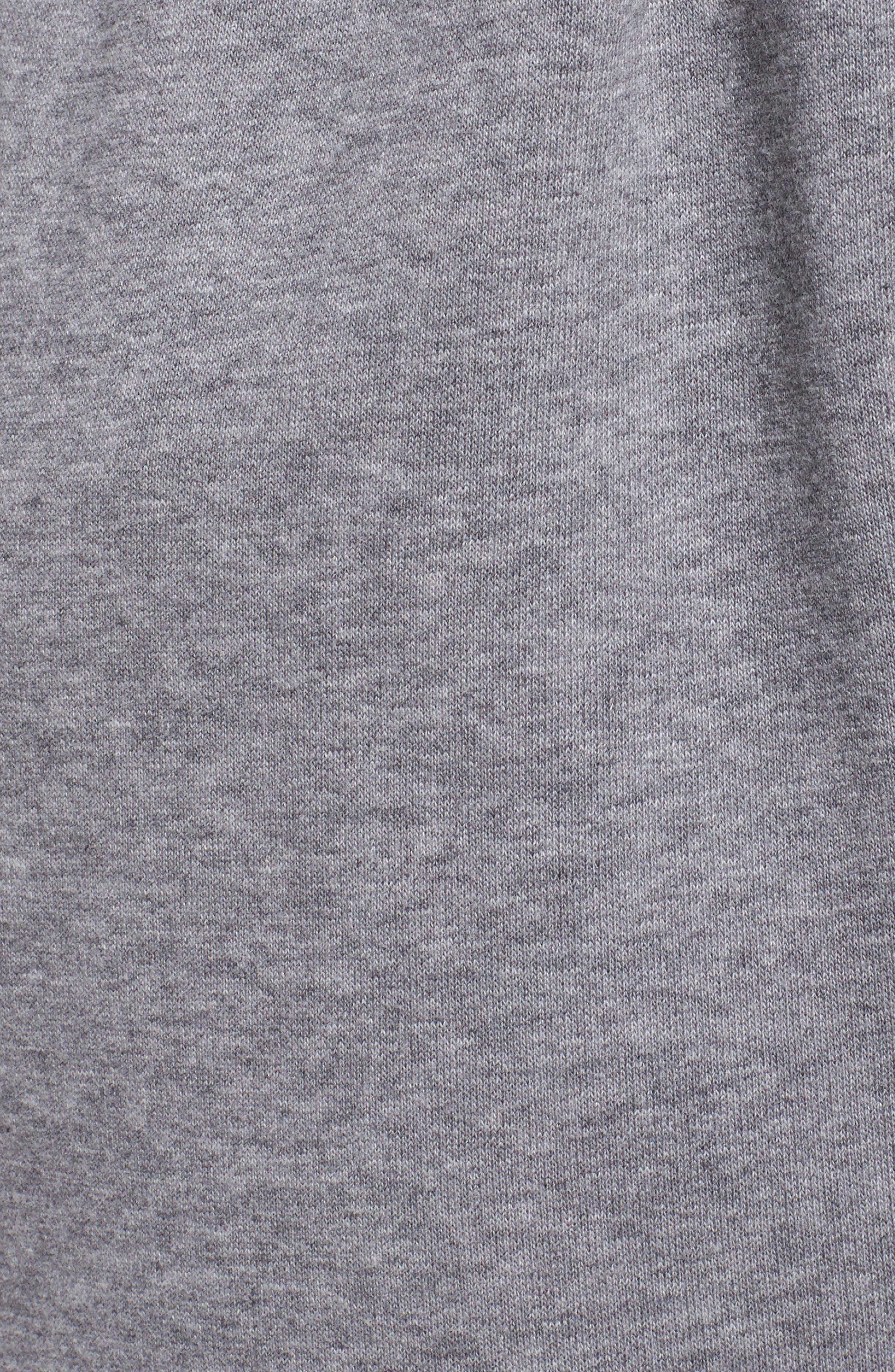 Alternate Image 5  - Nike Drawstring Fleece Pants (Plus Size)