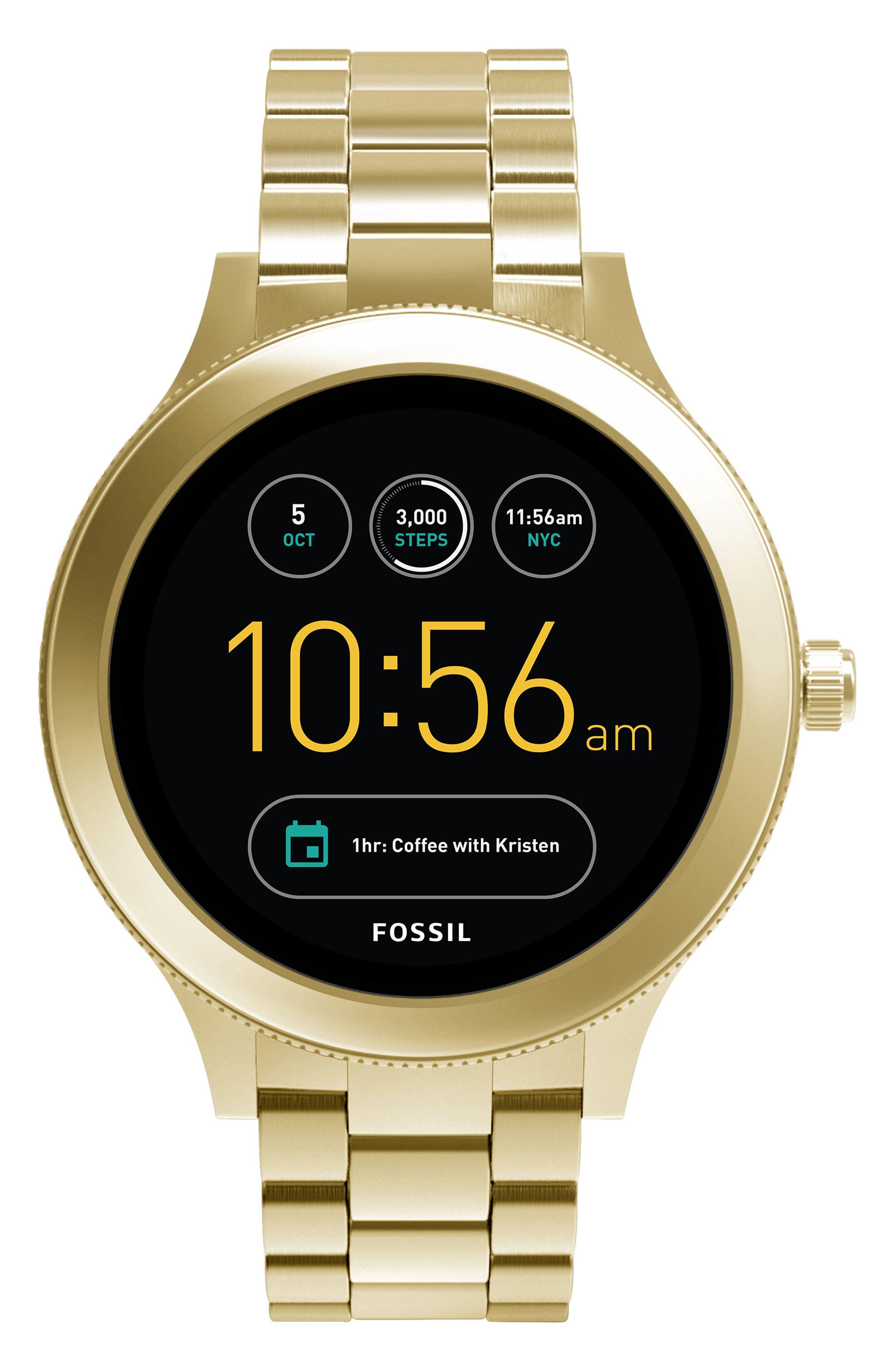 Venture Gen 3 Bracelet Smartwatch, 42mm,                             Main thumbnail 1, color,                             Gold
