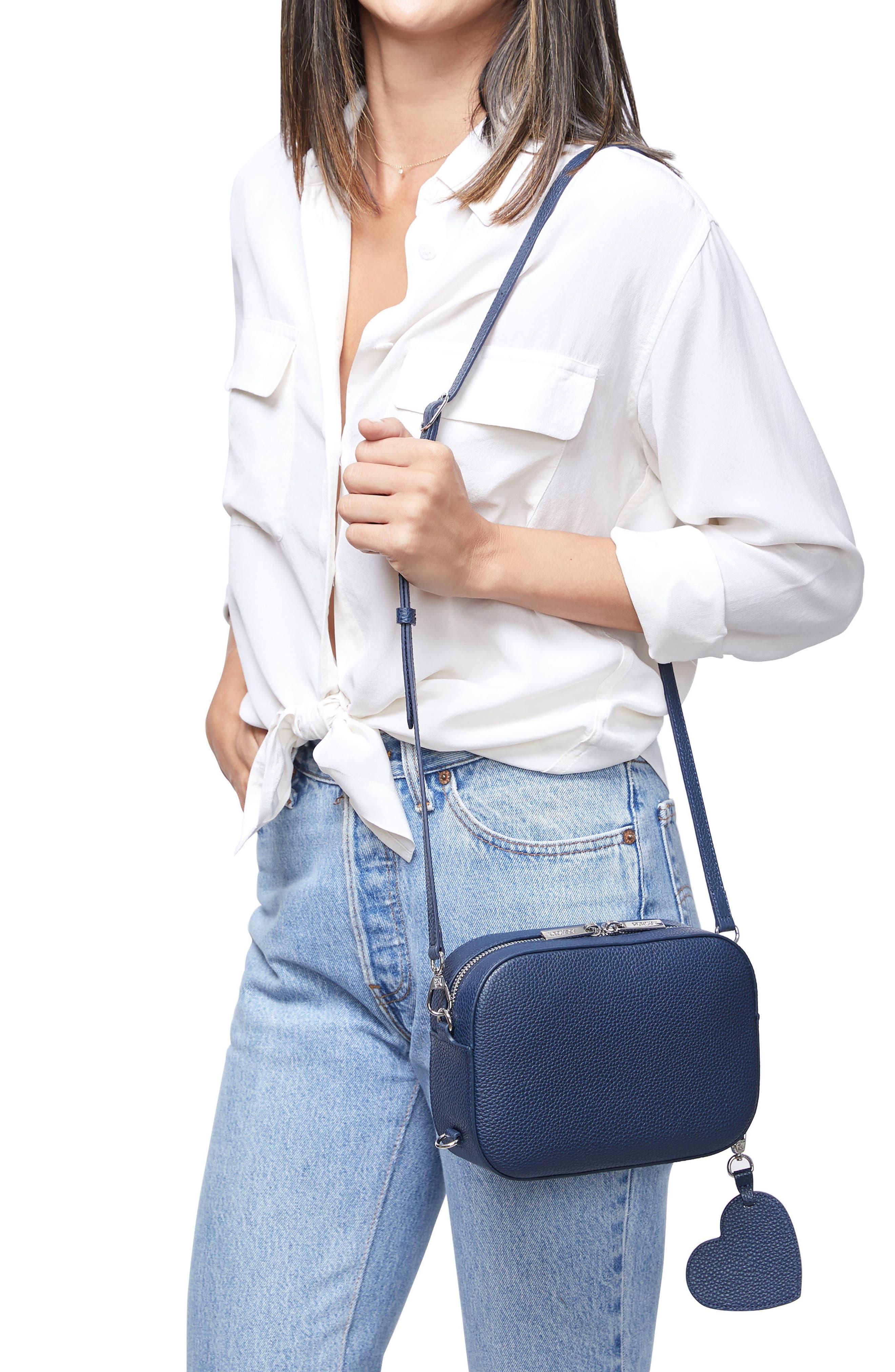 Alternate Image 2  - Pop & Suki Bigger Leather Camera Bag (Nordstrom Exclusive)