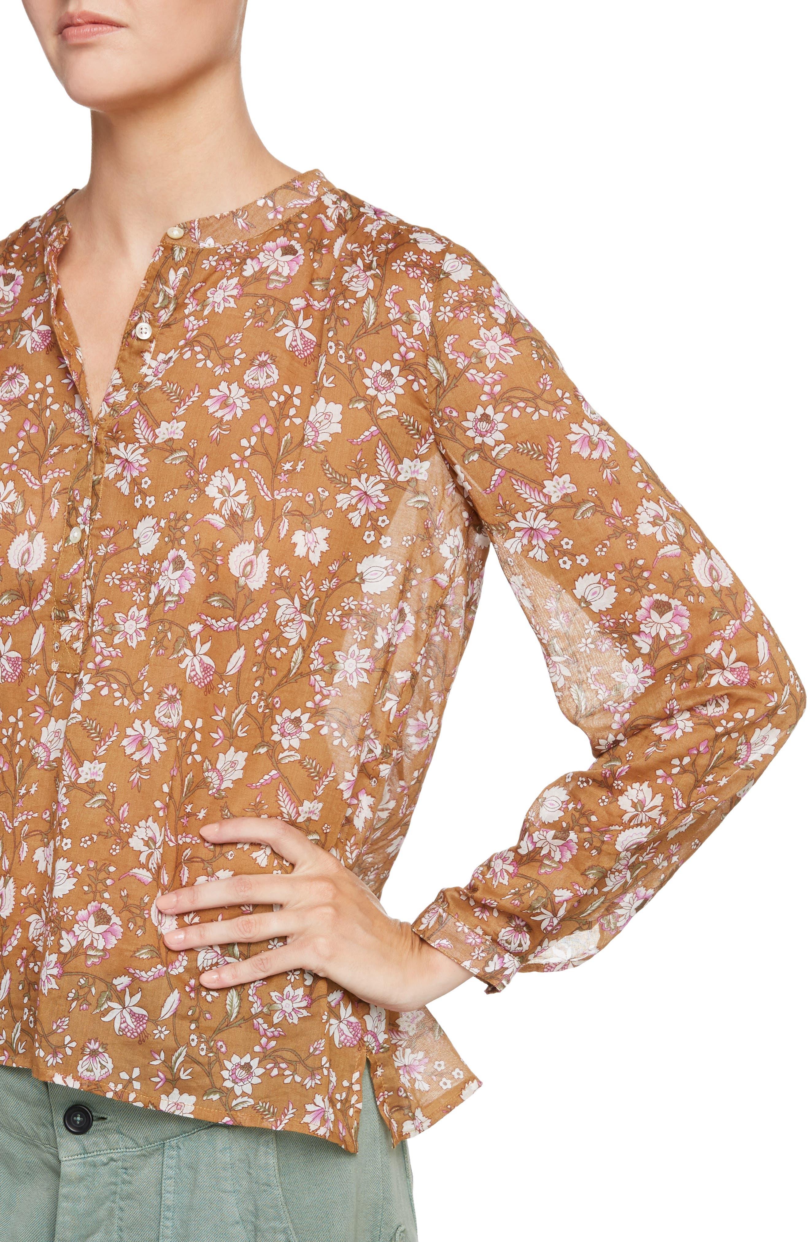 Alternate Image 4  - Isabel Marant Étoile Maria Print Cotton Blouse