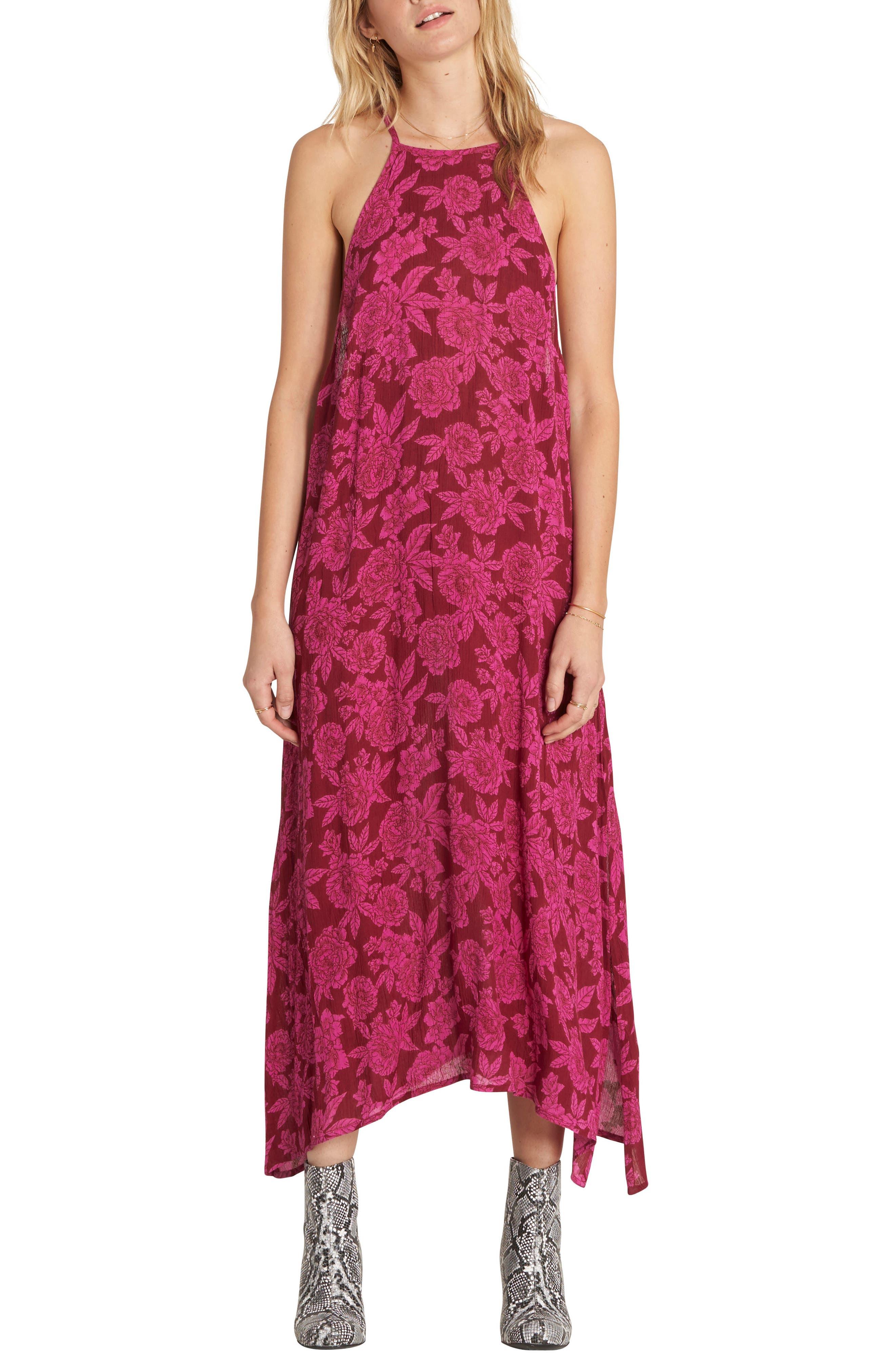 Dream to Dream Maxi Dress,                         Main,                         color, Pomegranate