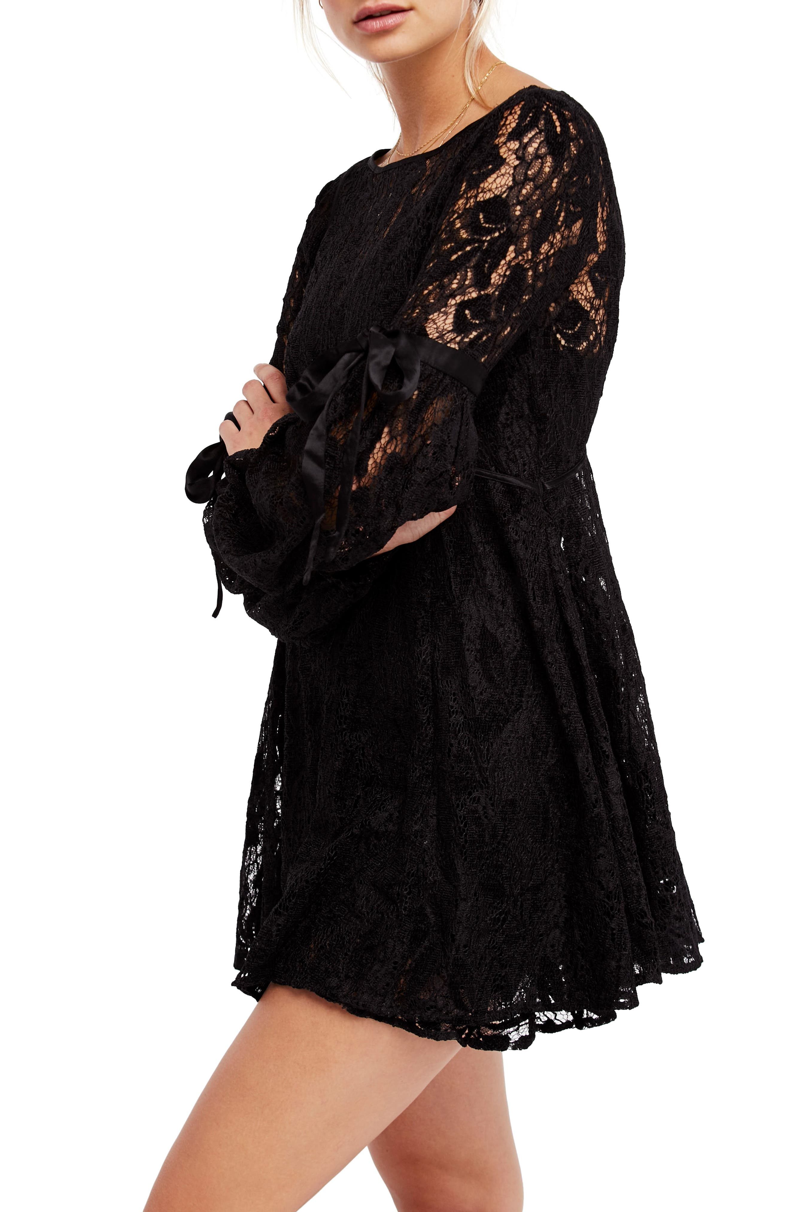 Main Image - Free People Rubi Lace Mini Dress