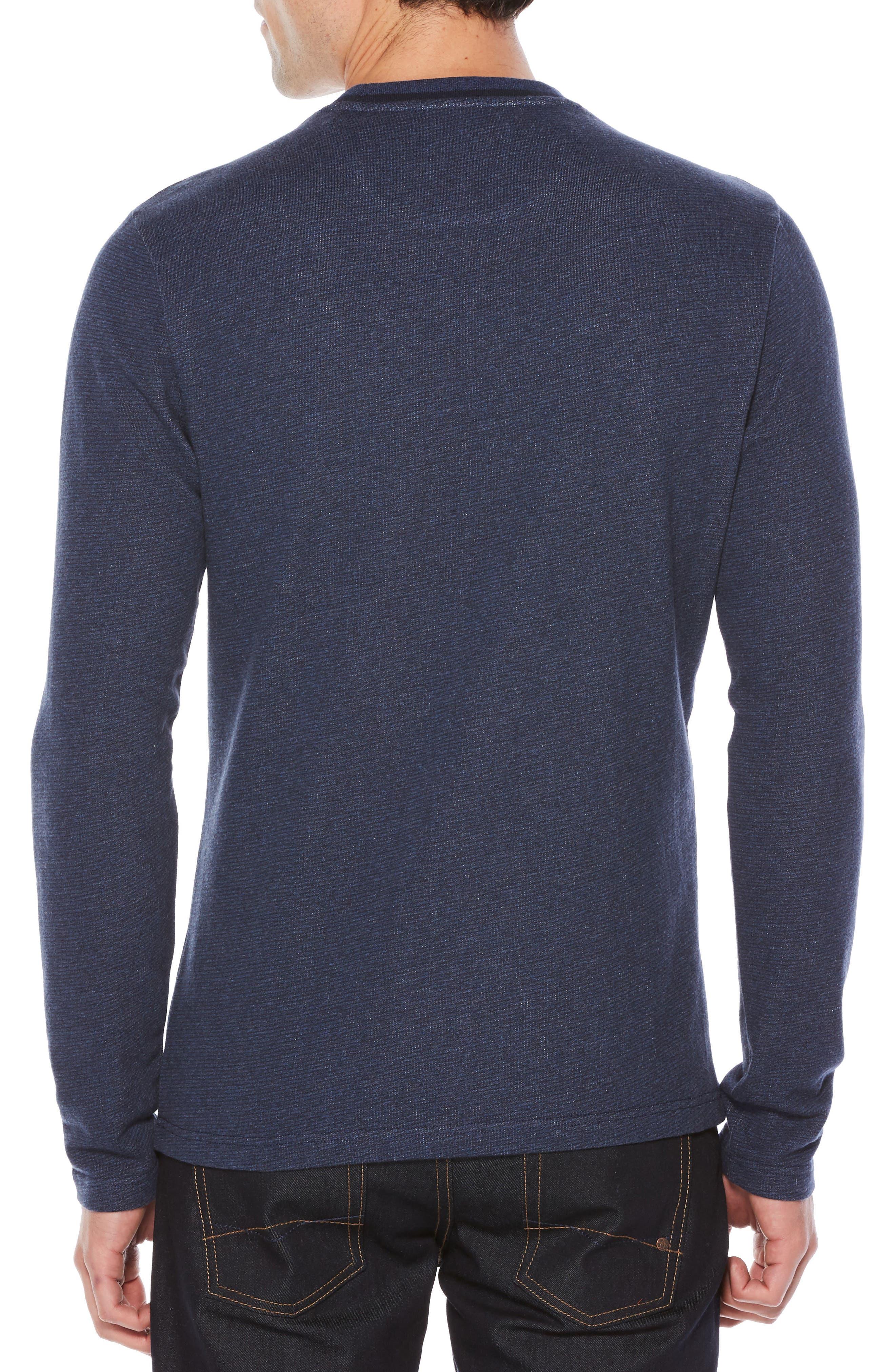 Alternate Image 2  - Original Penguin Jaspé Terry Long Sleeve T-Shirt