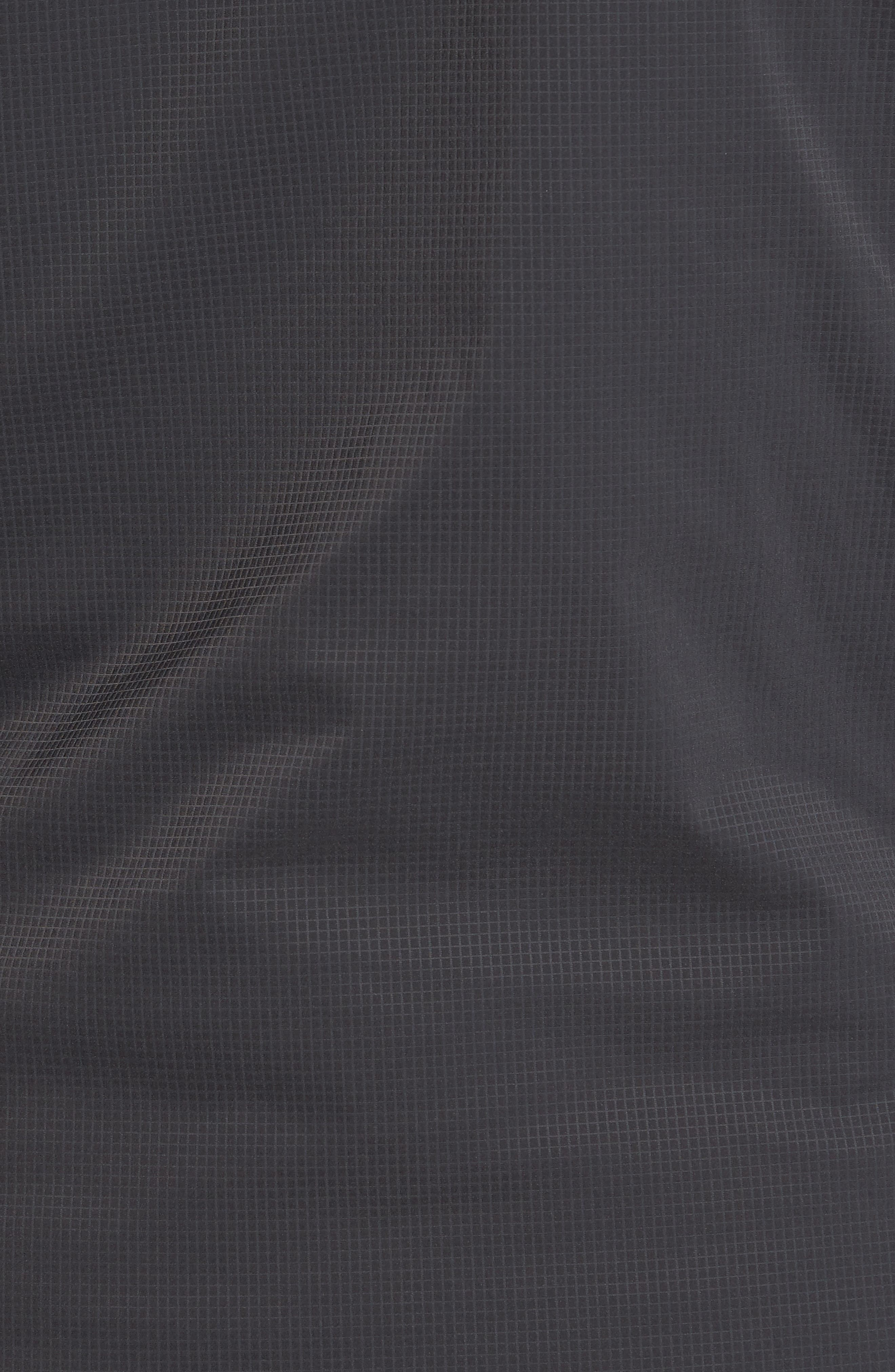Ventrix Water Resistant Ripstop Jacket,                             Alternate thumbnail 5, color,                             Asphalt Grey / Acid Yellow