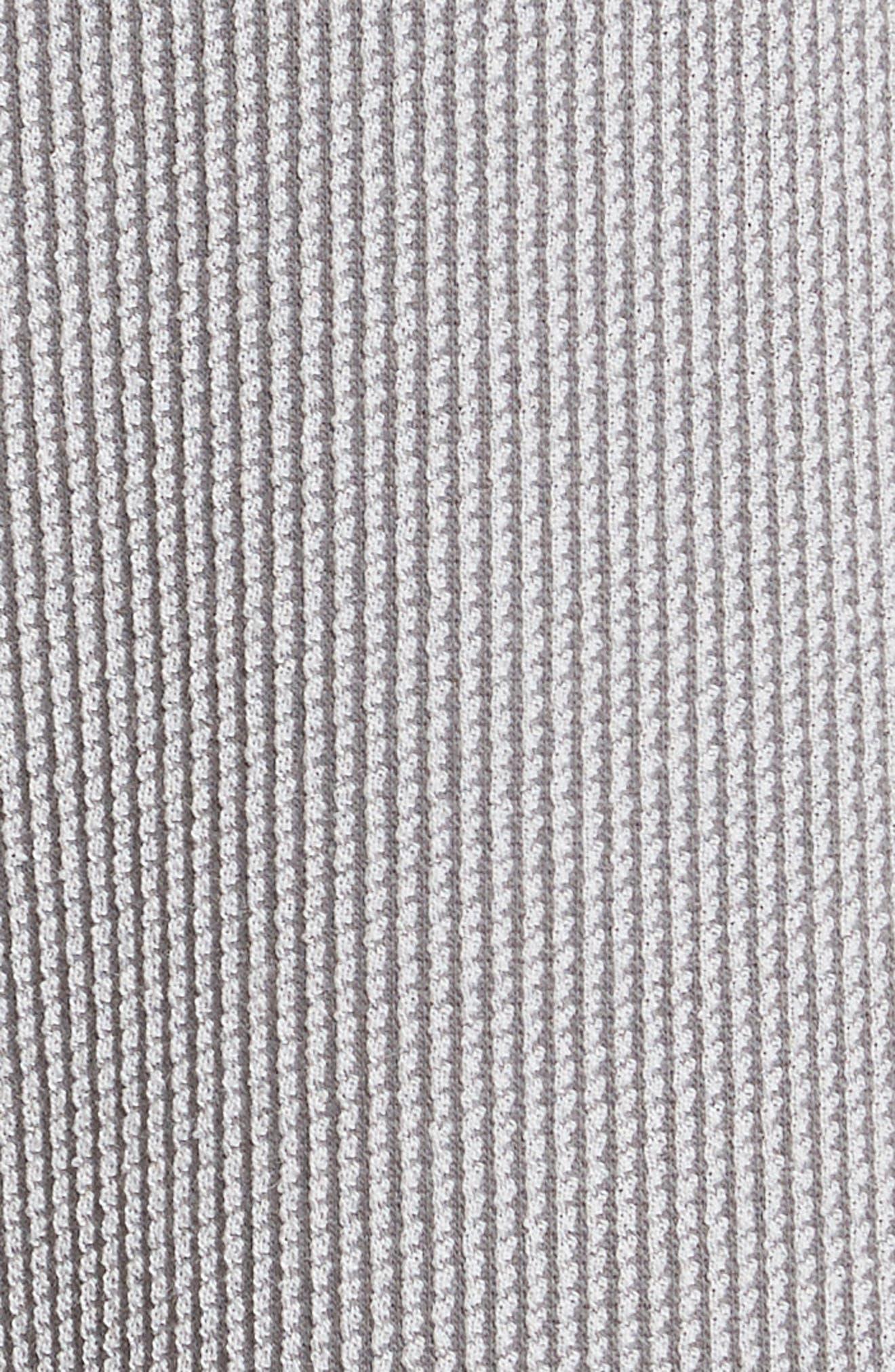 Pleated Stripe Jacquard Pants,                             Alternate thumbnail 6, color,                             Grey Multi
