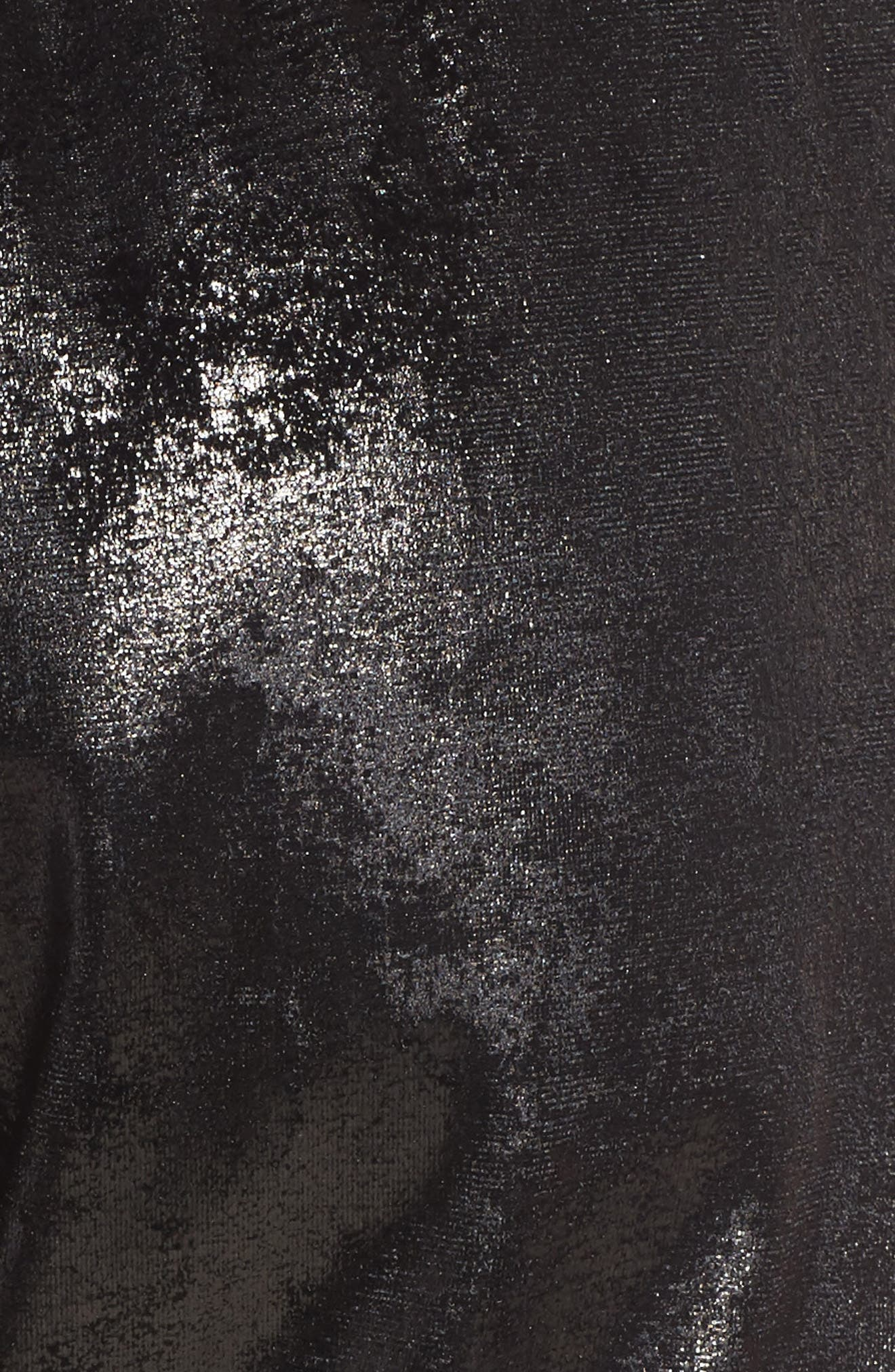 Randall Cuffed Sweatpants,                             Alternate thumbnail 5, color,                             Black