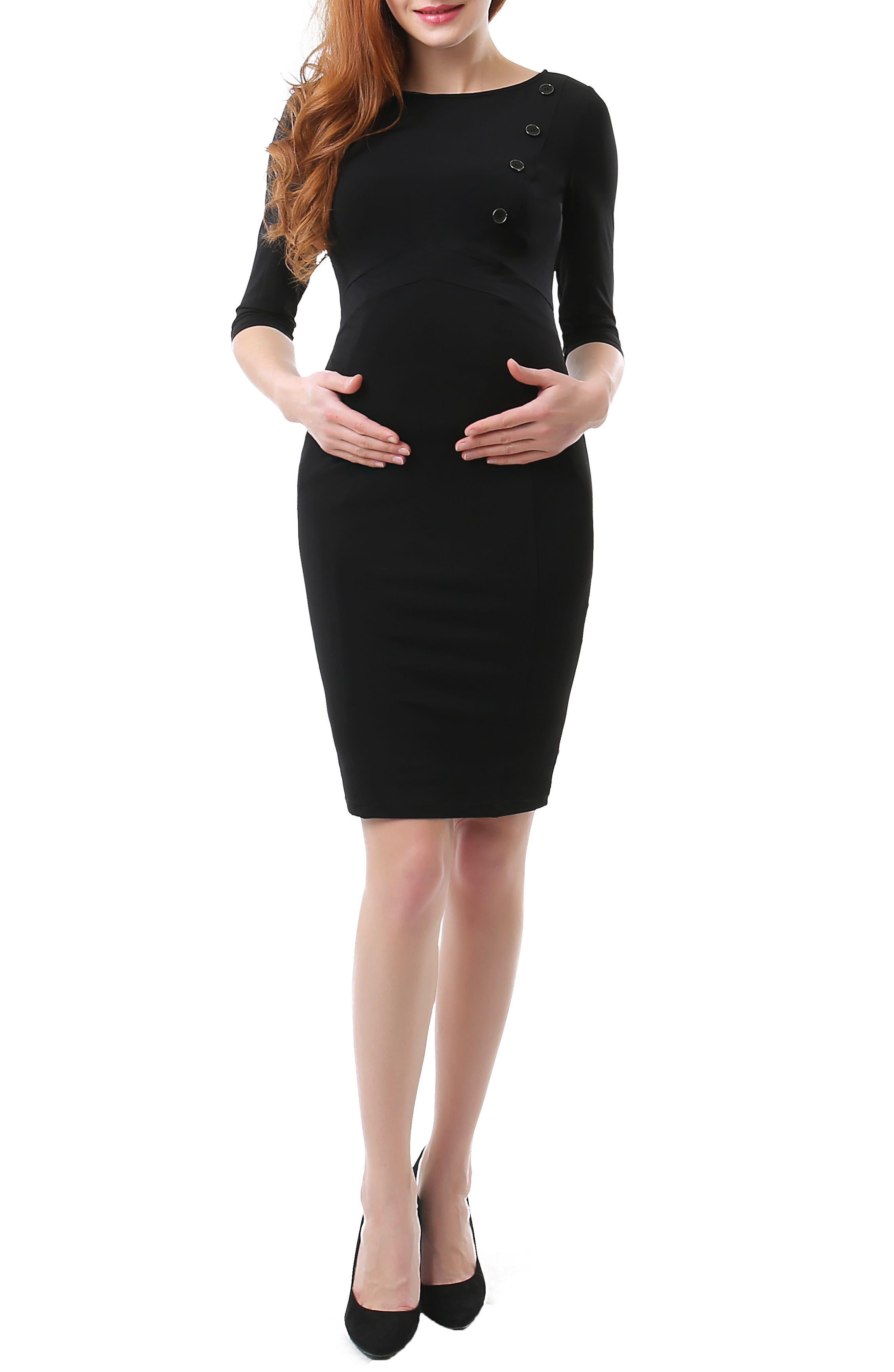 Main Image - Kimi and Kai Meredith Maternity Dress